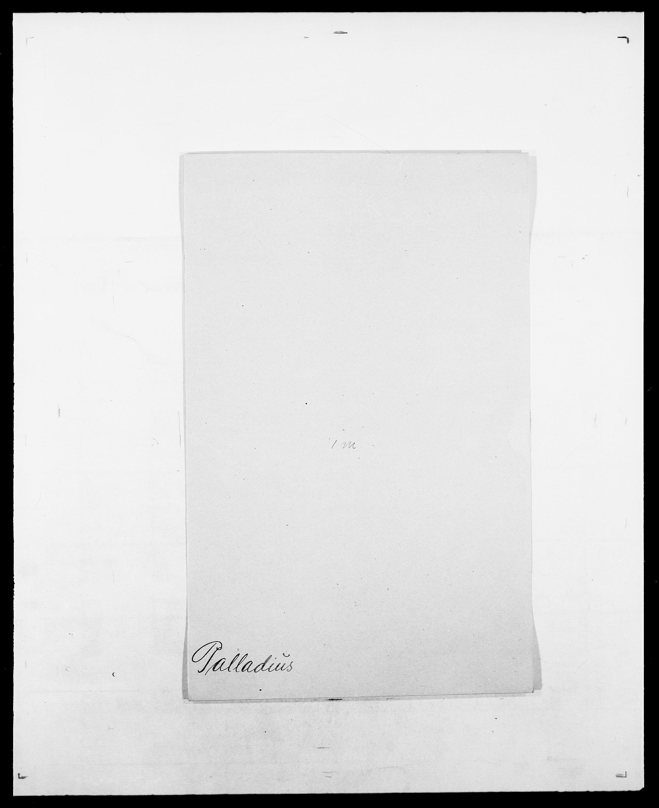 SAO, Delgobe, Charles Antoine - samling, D/Da/L0030: Paars - Pittelkov, s. 60