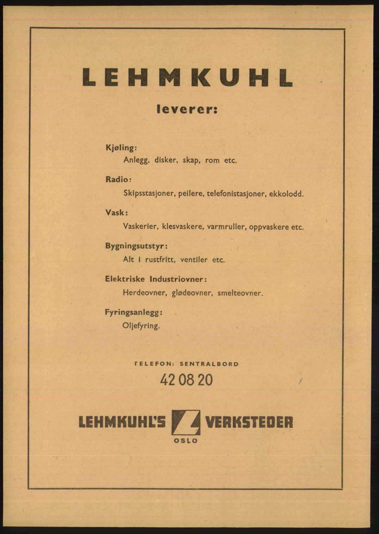 RA, Oslo adressebok (publikasjon)*, 1948