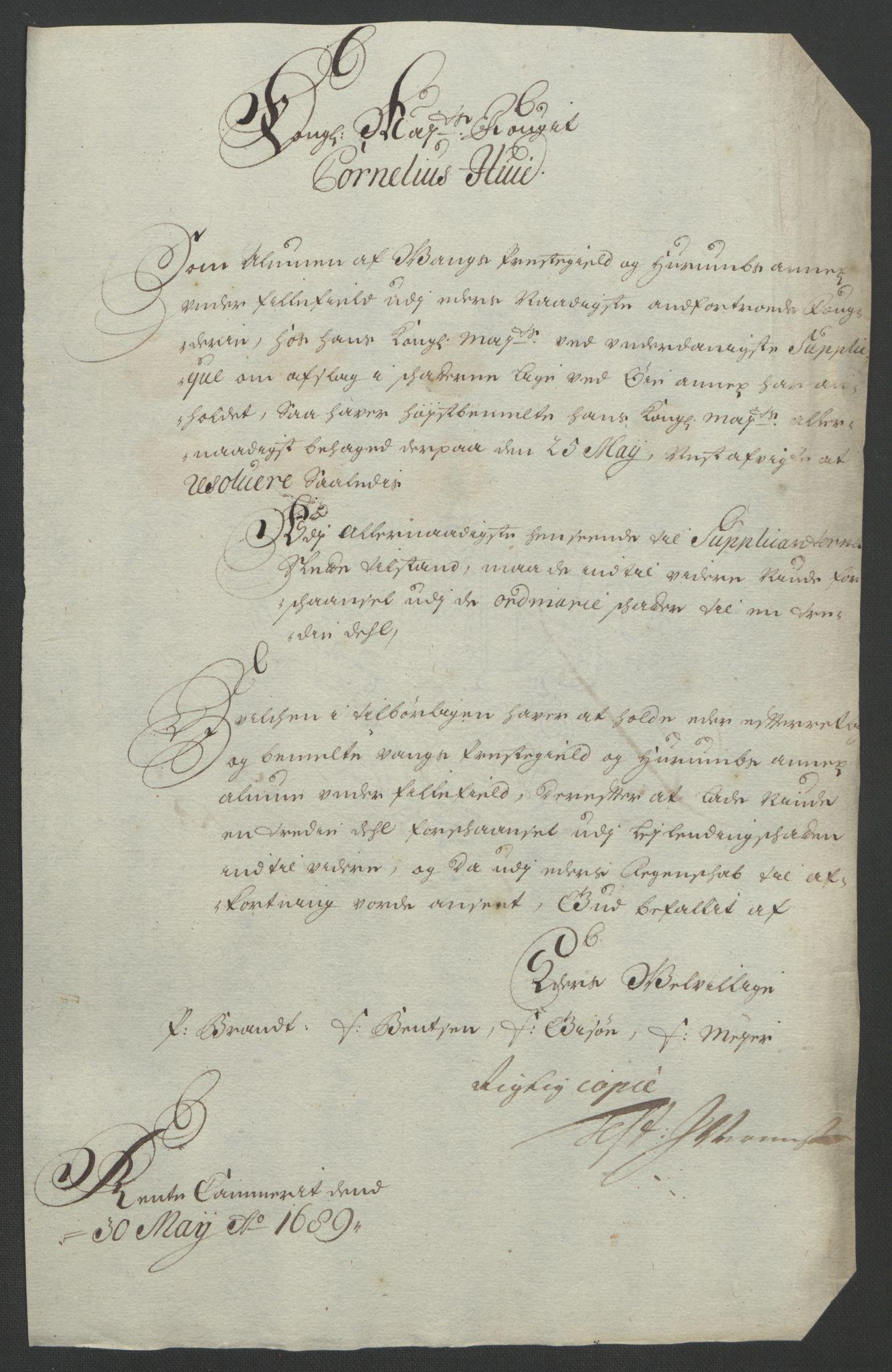 RA, Rentekammeret inntil 1814, Reviderte regnskaper, Fogderegnskap, R18/L1293: Fogderegnskap Hadeland, Toten og Valdres, 1695, s. 162