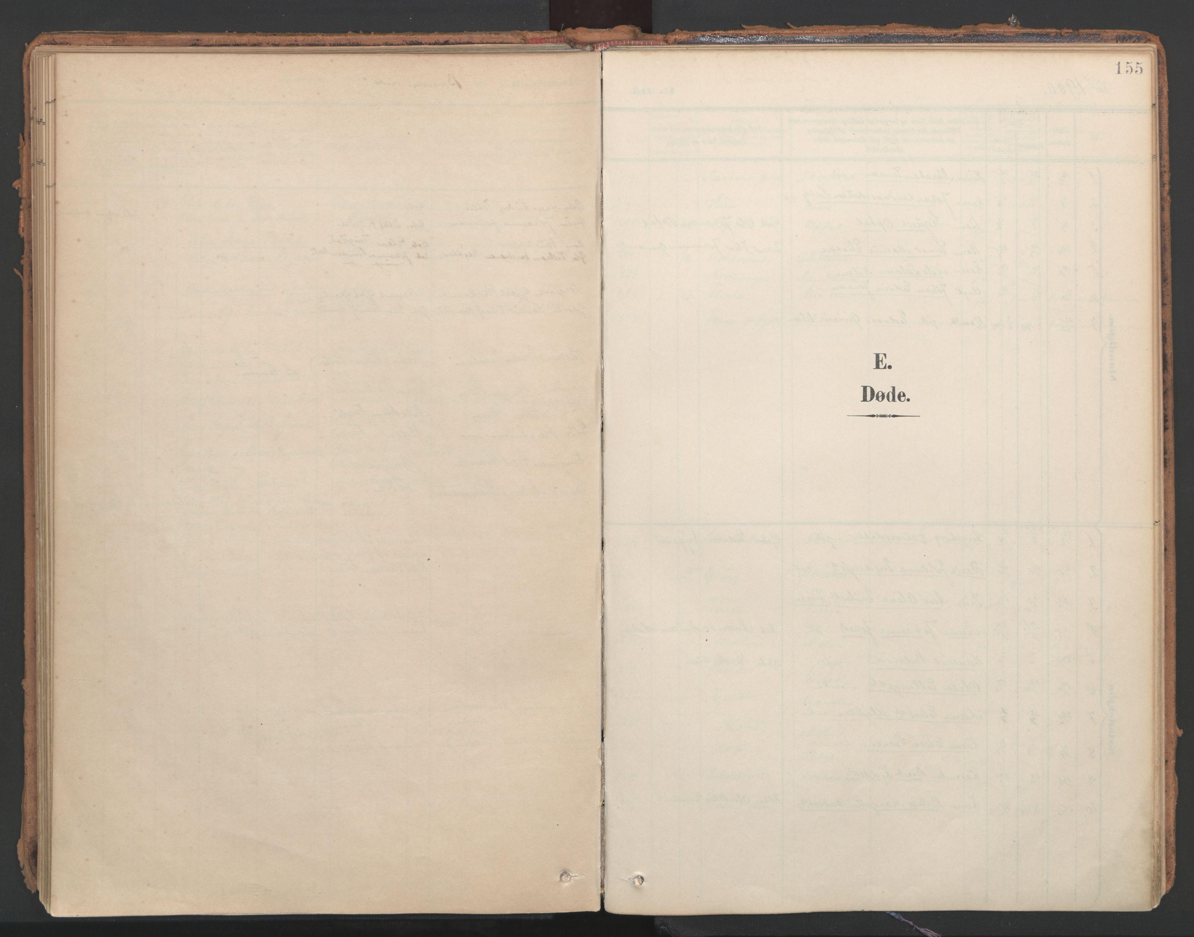 SAT, Ministerialprotokoller, klokkerbøker og fødselsregistre - Nord-Trøndelag, 766/L0564: Ministerialbok nr. 767A02, 1900-1932, s. 155