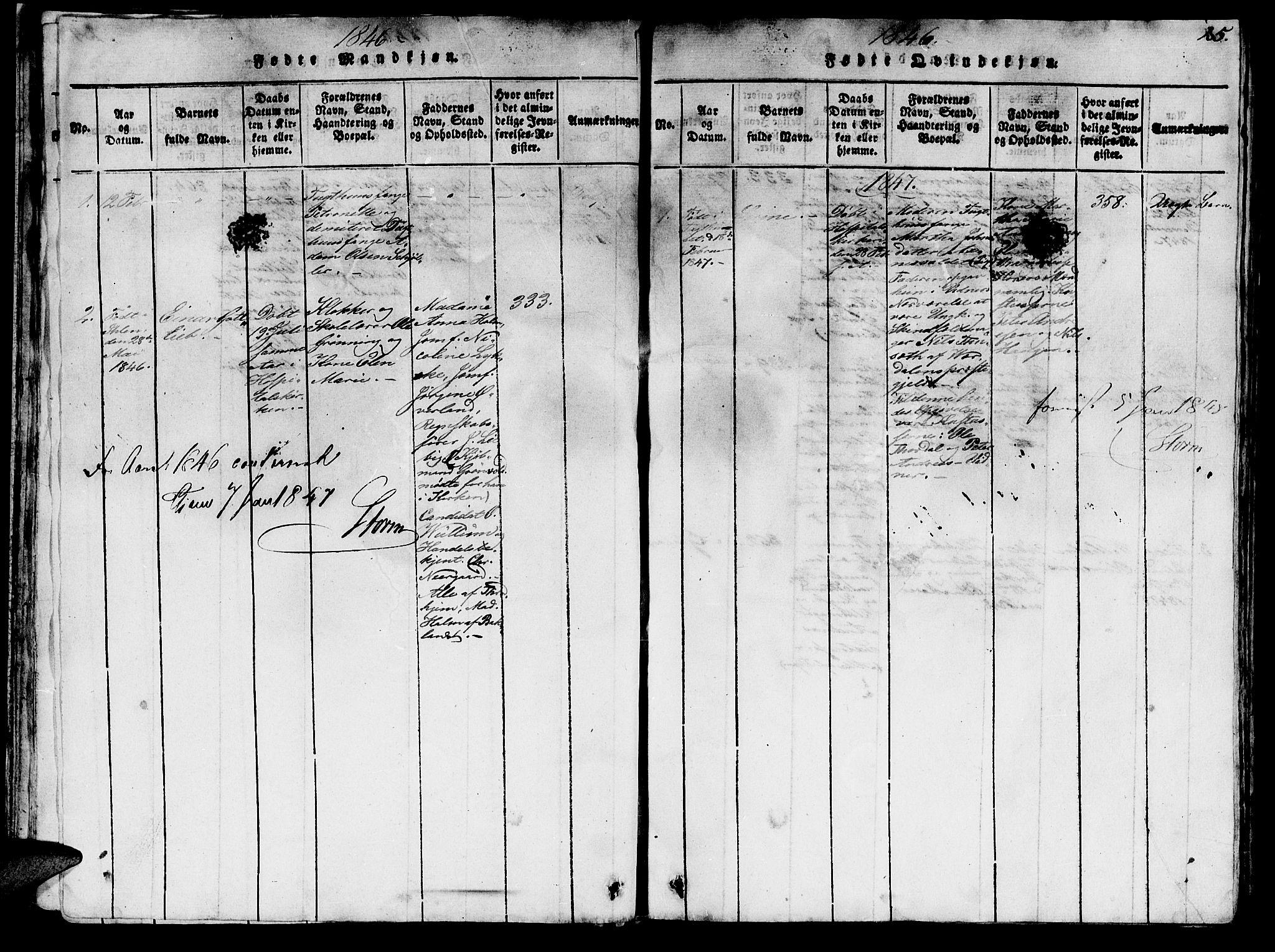 SAT, Ministerialprotokoller, klokkerbøker og fødselsregistre - Sør-Trøndelag, 623/L0478: Klokkerbok nr. 623C01, 1815-1873, s. 25
