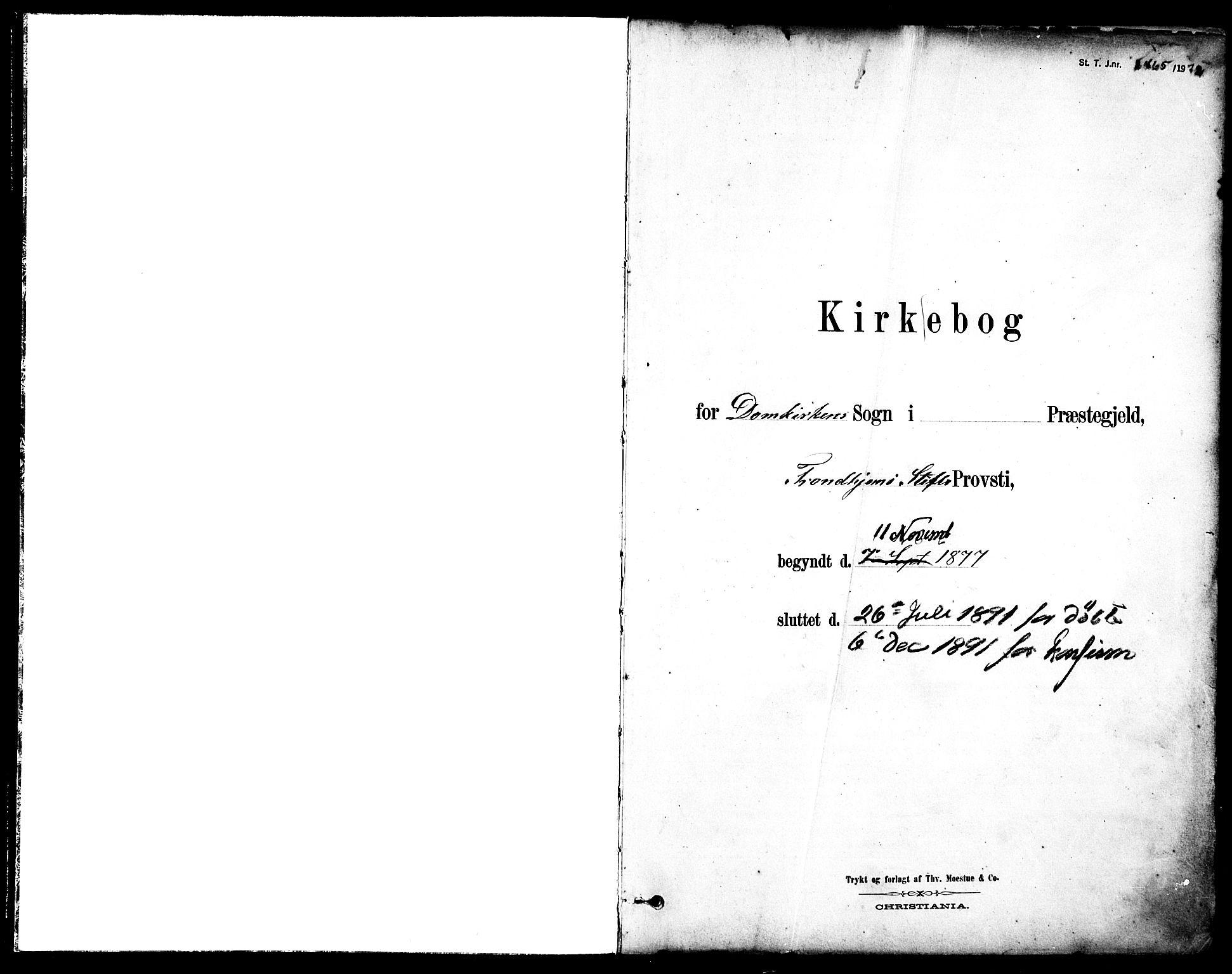SAT, Ministerialprotokoller, klokkerbøker og fødselsregistre - Sør-Trøndelag, 601/L0057: Ministerialbok nr. 601A25, 1877-1891