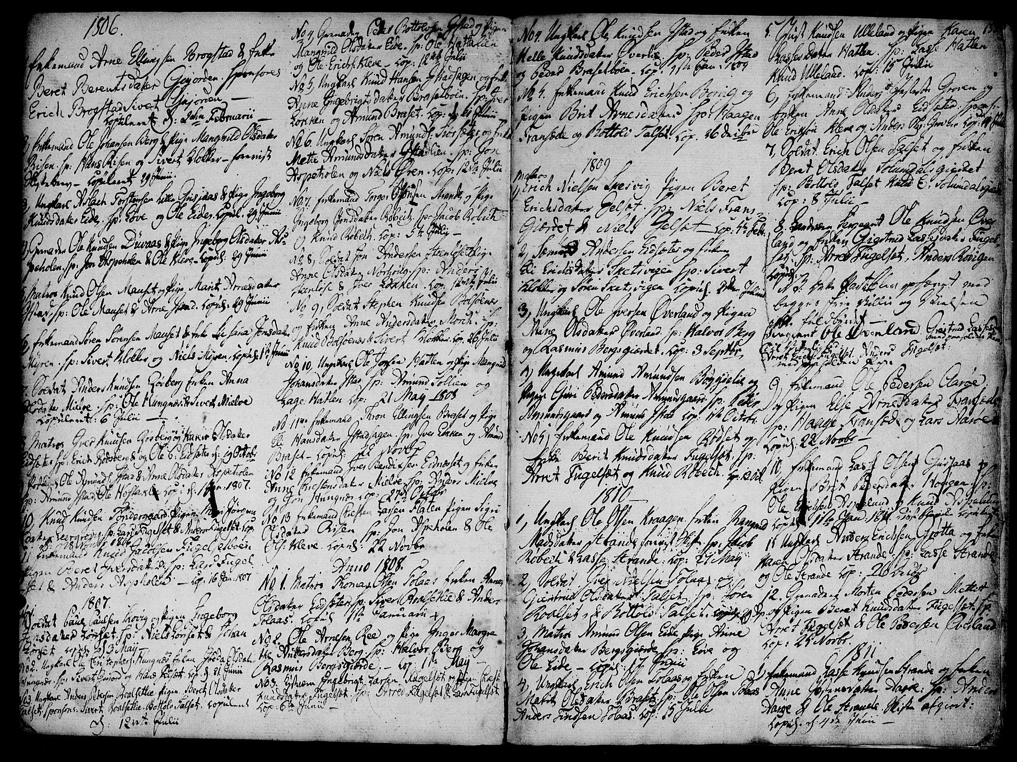 SAT, Ministerialprotokoller, klokkerbøker og fødselsregistre - Møre og Romsdal, 555/L0650: Ministerialbok nr. 555A02 /2, 1798-1821, s. 139