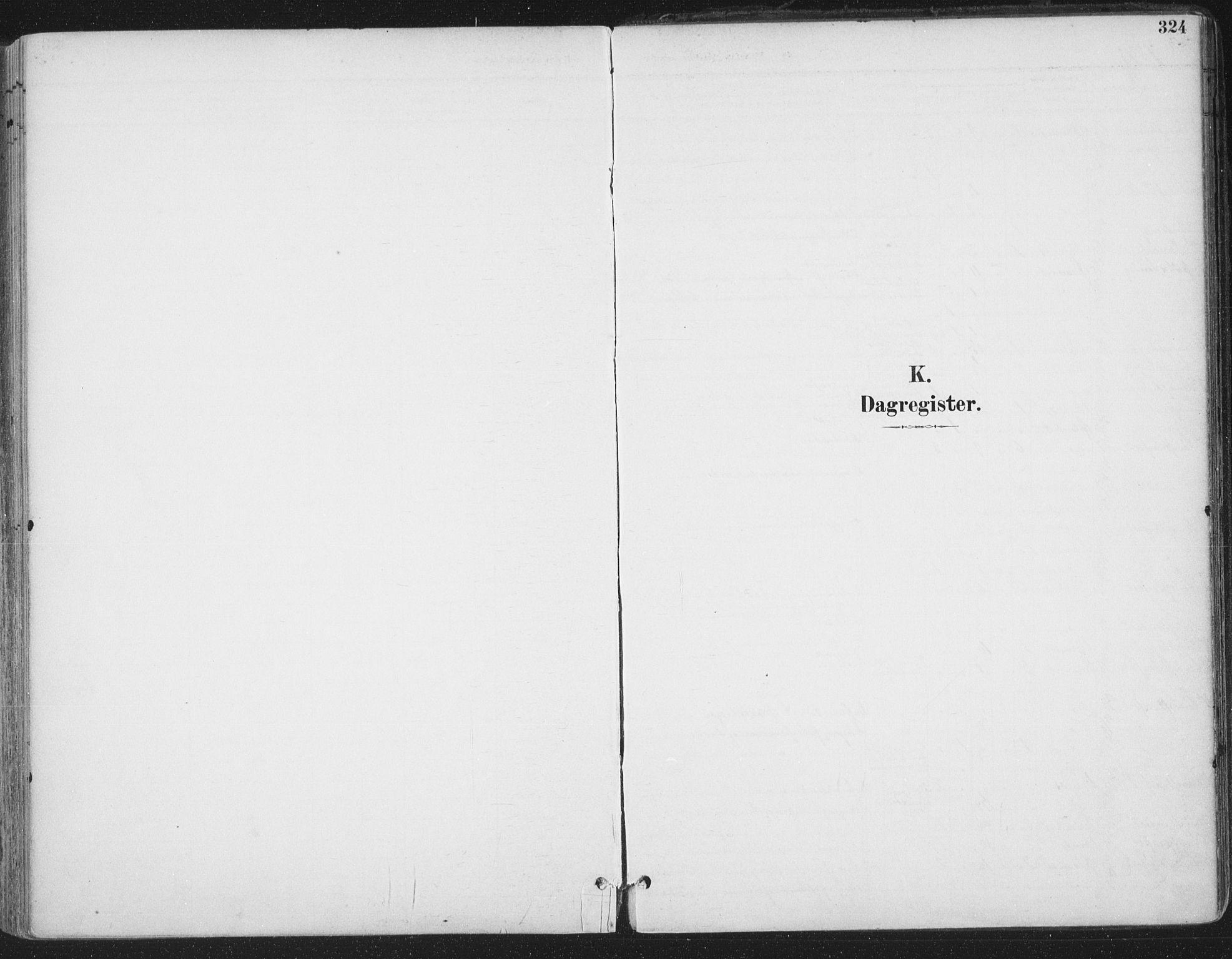 SAT, Ministerialprotokoller, klokkerbøker og fødselsregistre - Sør-Trøndelag, 659/L0743: Ministerialbok nr. 659A13, 1893-1910, s. 324