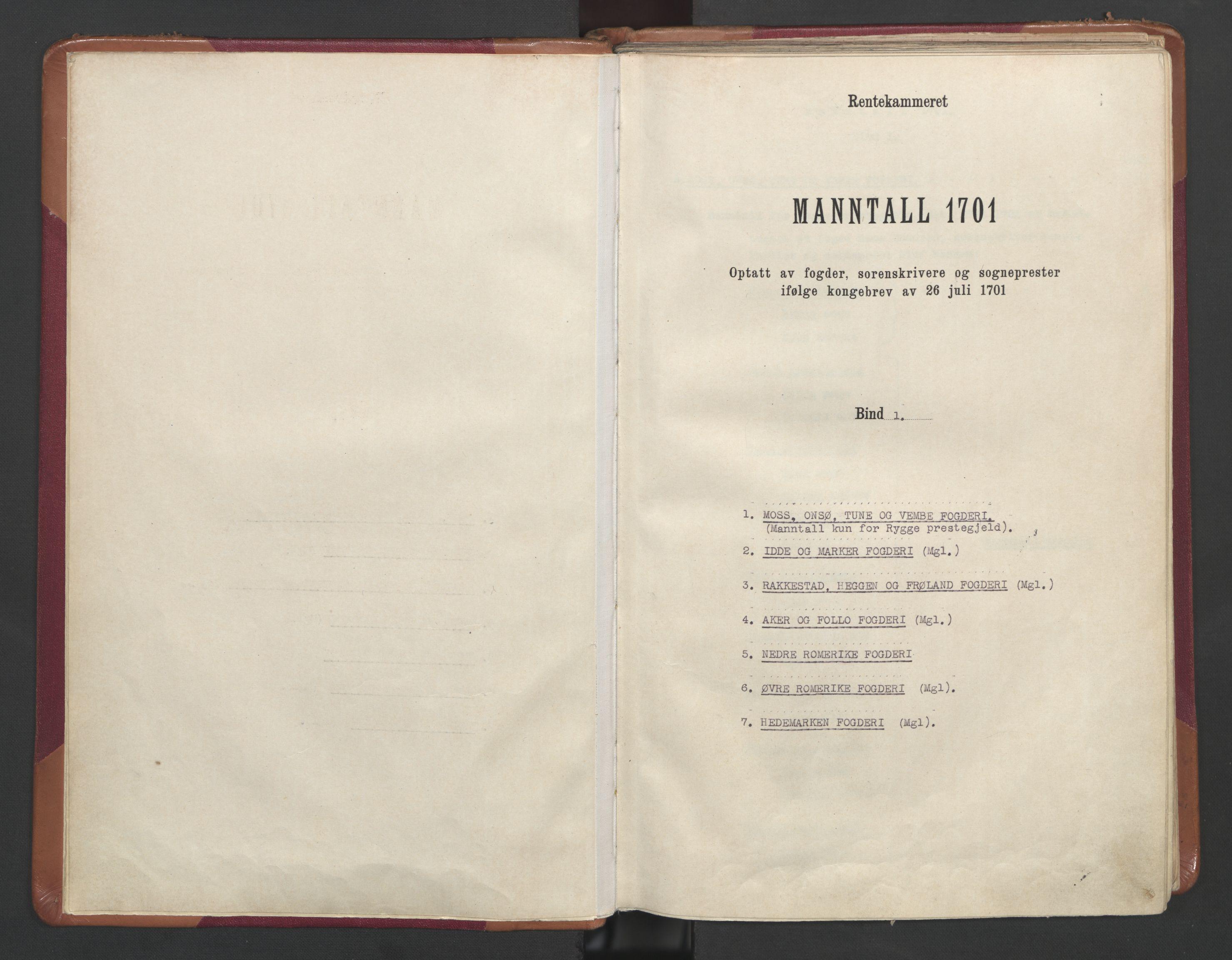 RA, Manntallet 1701, nr. 1: Moss, Onsøy, Tune og Veme fogderi og Nedre Romerike fogderi, 1701, s. upaginert