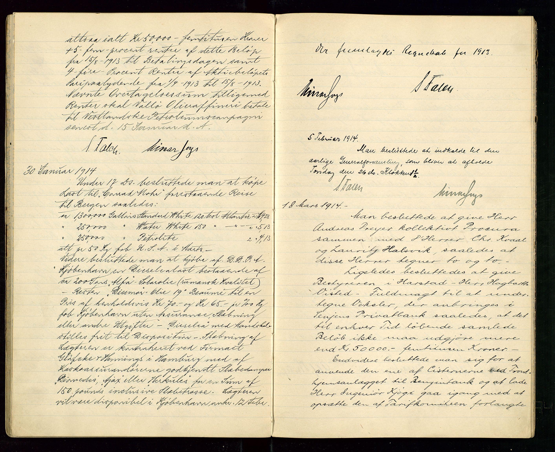 SAST, PA 1533 - A/S Vestlandske Petroleumscompani, A/Aa/L0001: Generalforsamlinger og styreprotokoller, 1907-1915, s. 51