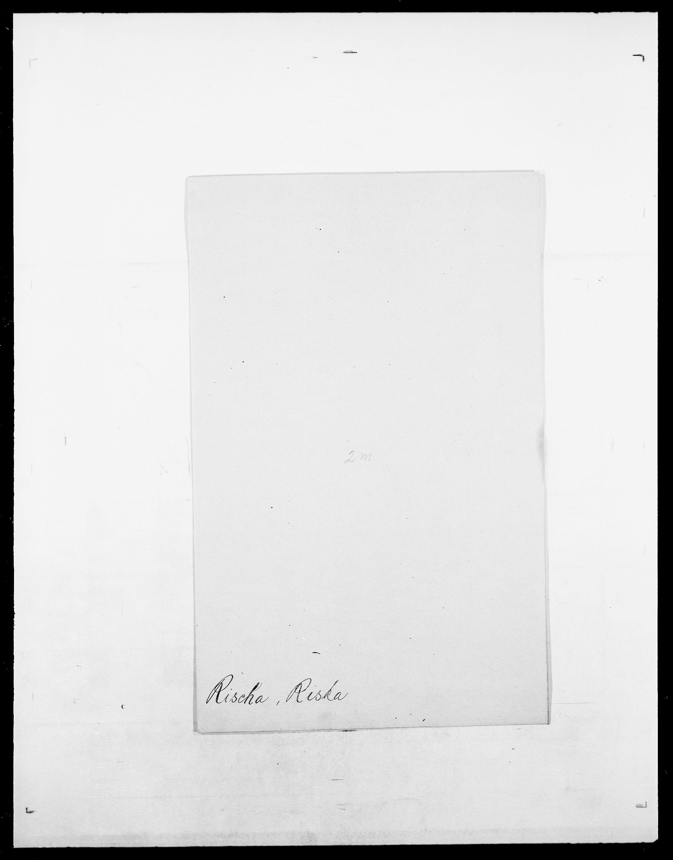 SAO, Delgobe, Charles Antoine - samling, D/Da/L0032: Rabakovsky - Rivertz, s. 774