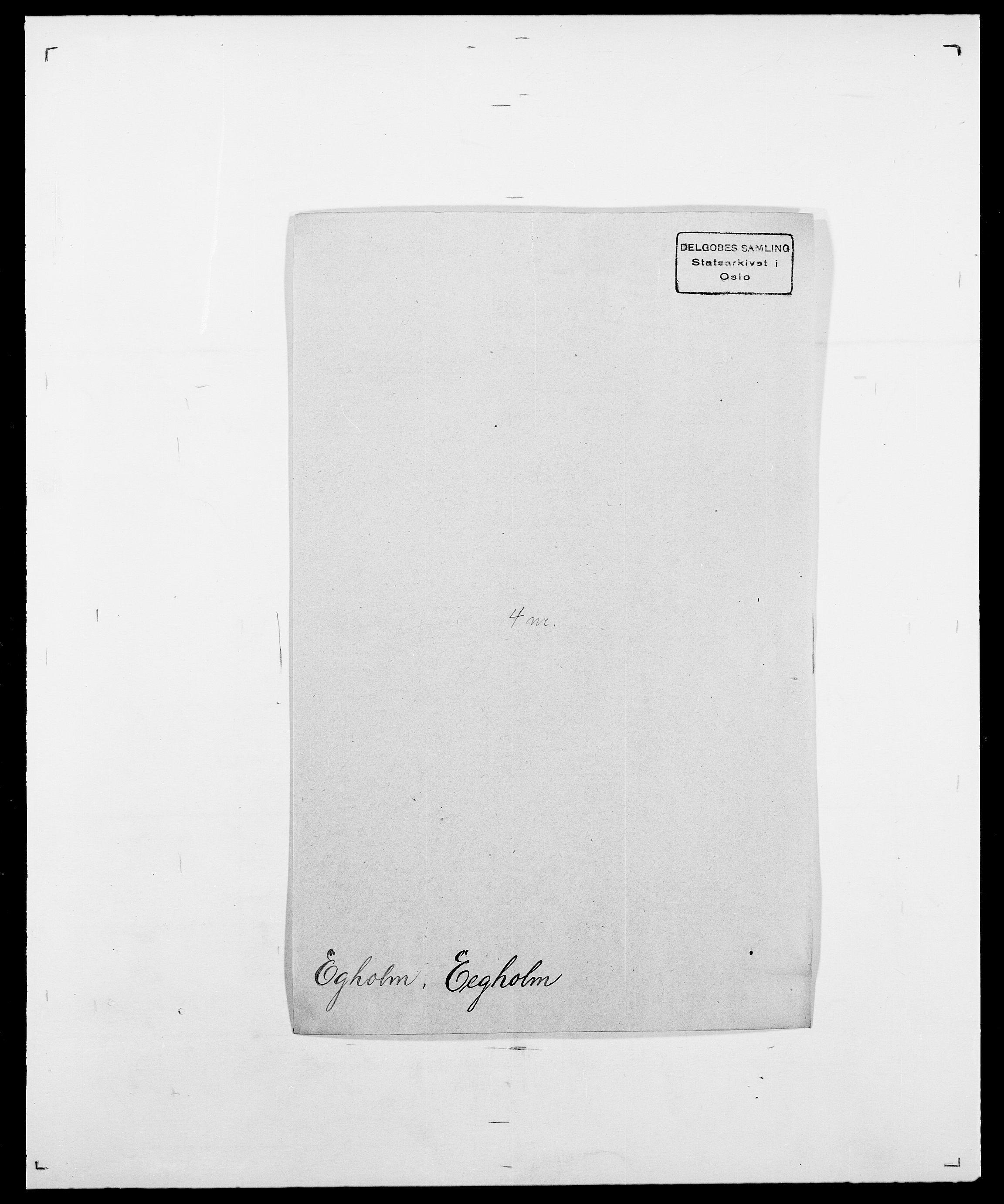 SAO, Delgobe, Charles Antoine - samling, D/Da/L0010: Dürendahl - Fagelund, s. 240