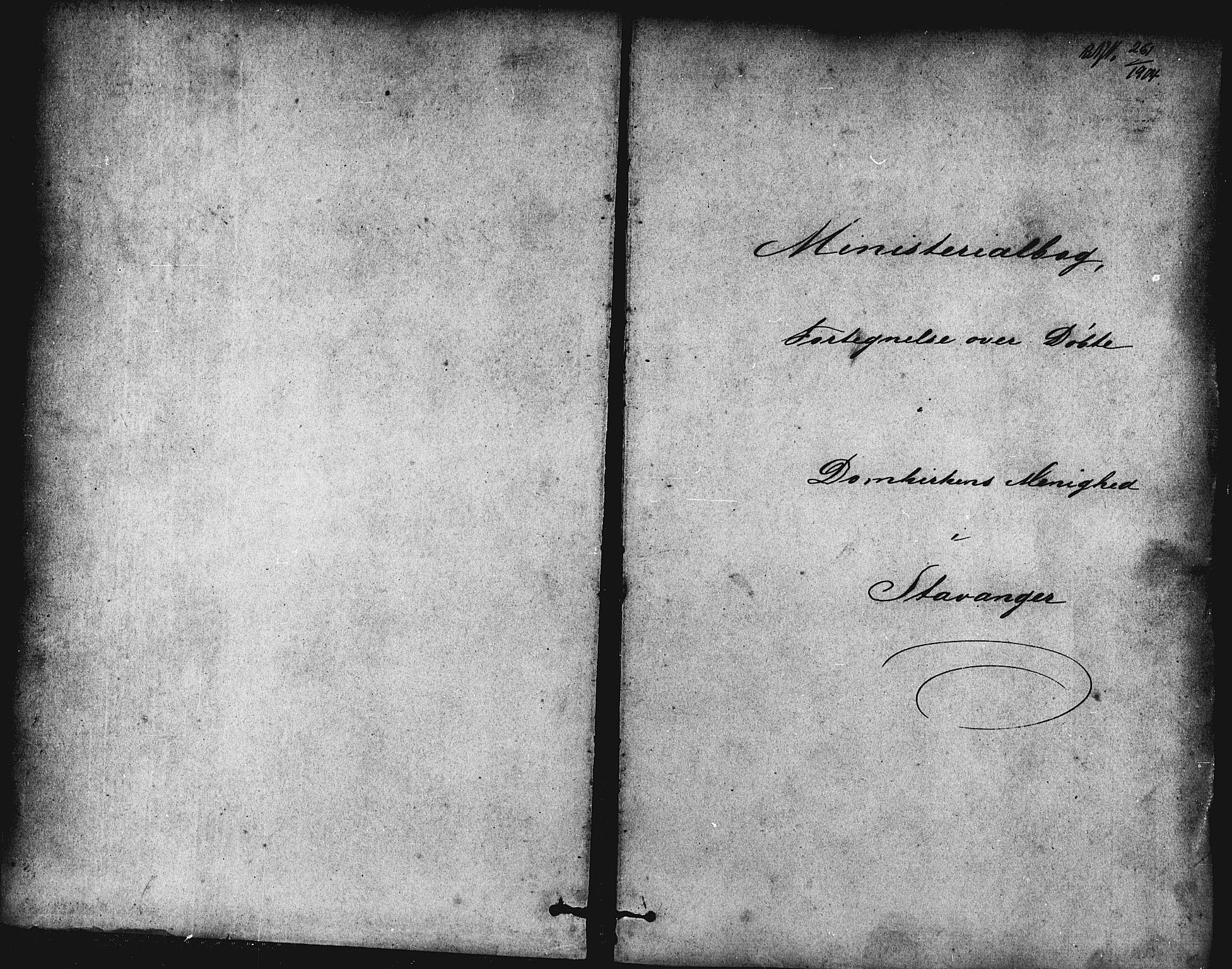 SAST, Domkirken sokneprestkontor, 30/30BB/L0013: Klokkerbok nr. B 13, 1871-1880