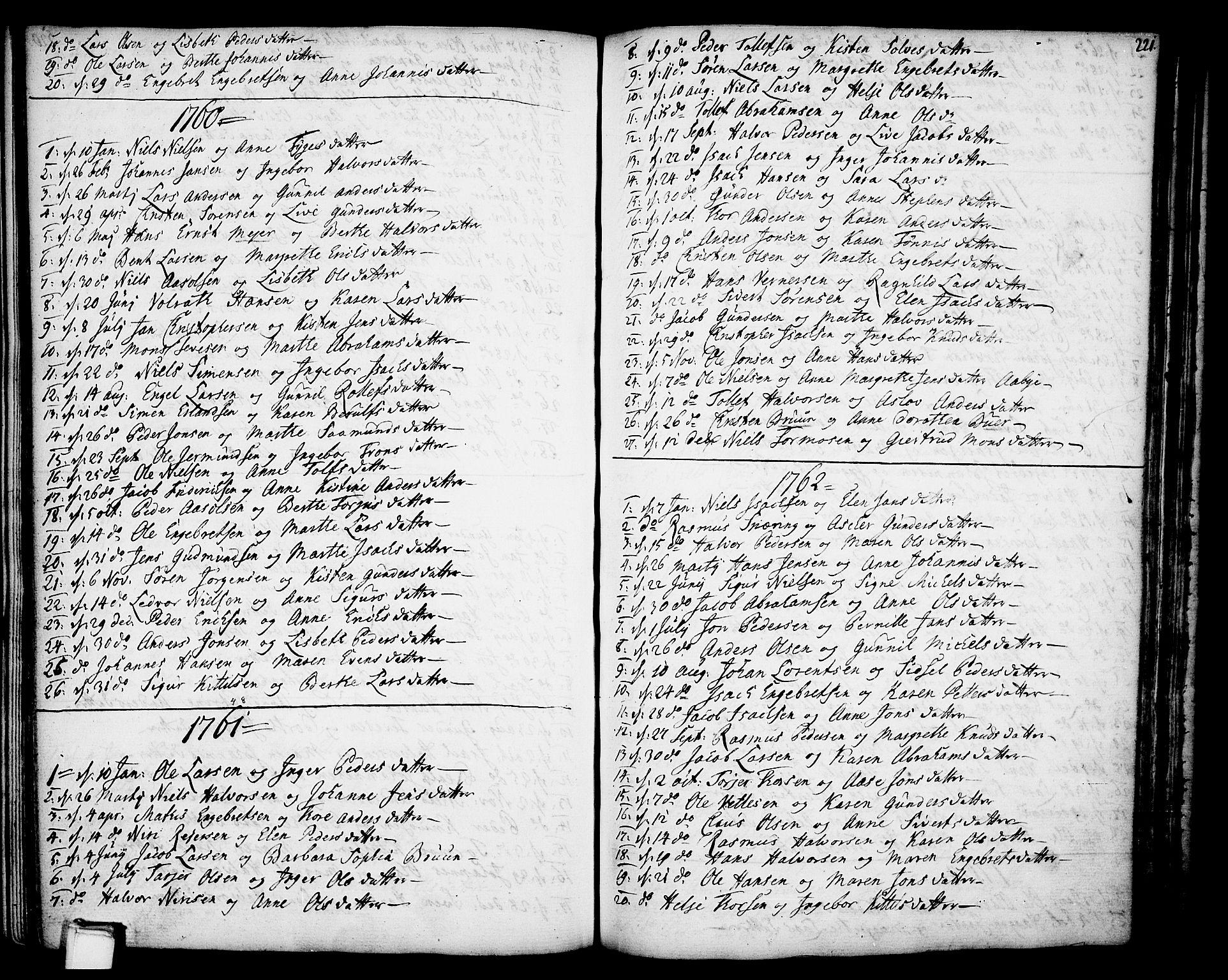 SAKO, Gjerpen kirkebøker, F/Fa/L0002: Ministerialbok nr. 2, 1747-1795, s. 221