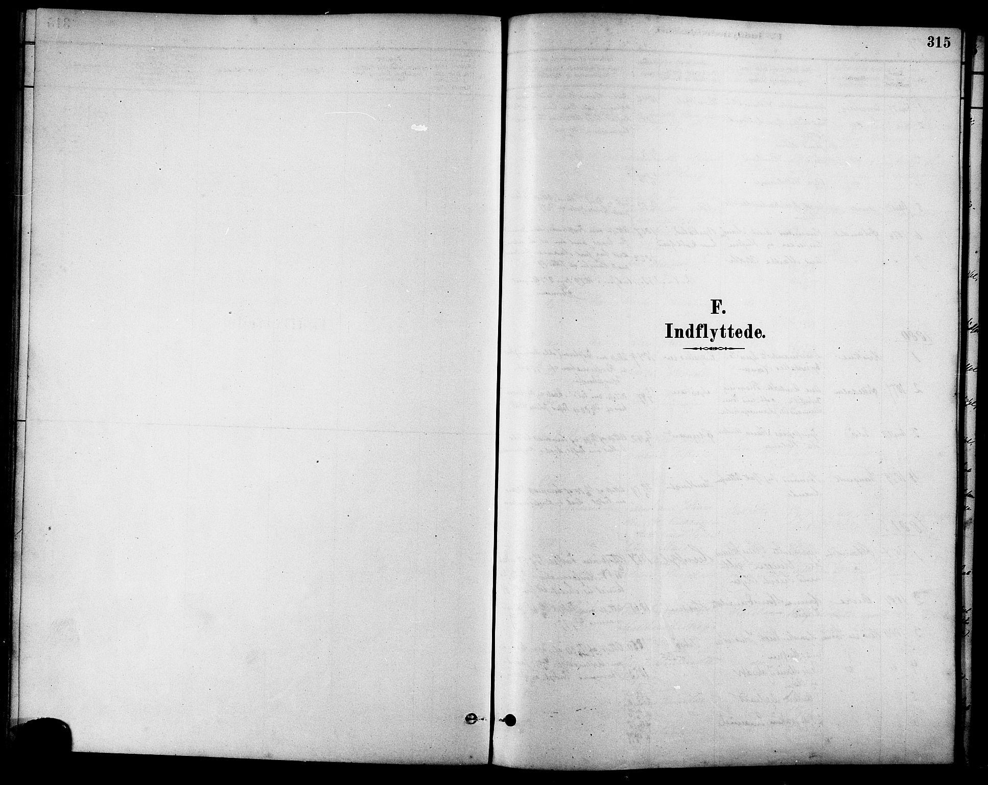 SAT, Ministerialprotokoller, klokkerbøker og fødselsregistre - Sør-Trøndelag, 630/L0496: Ministerialbok nr. 630A09, 1879-1895, s. 315