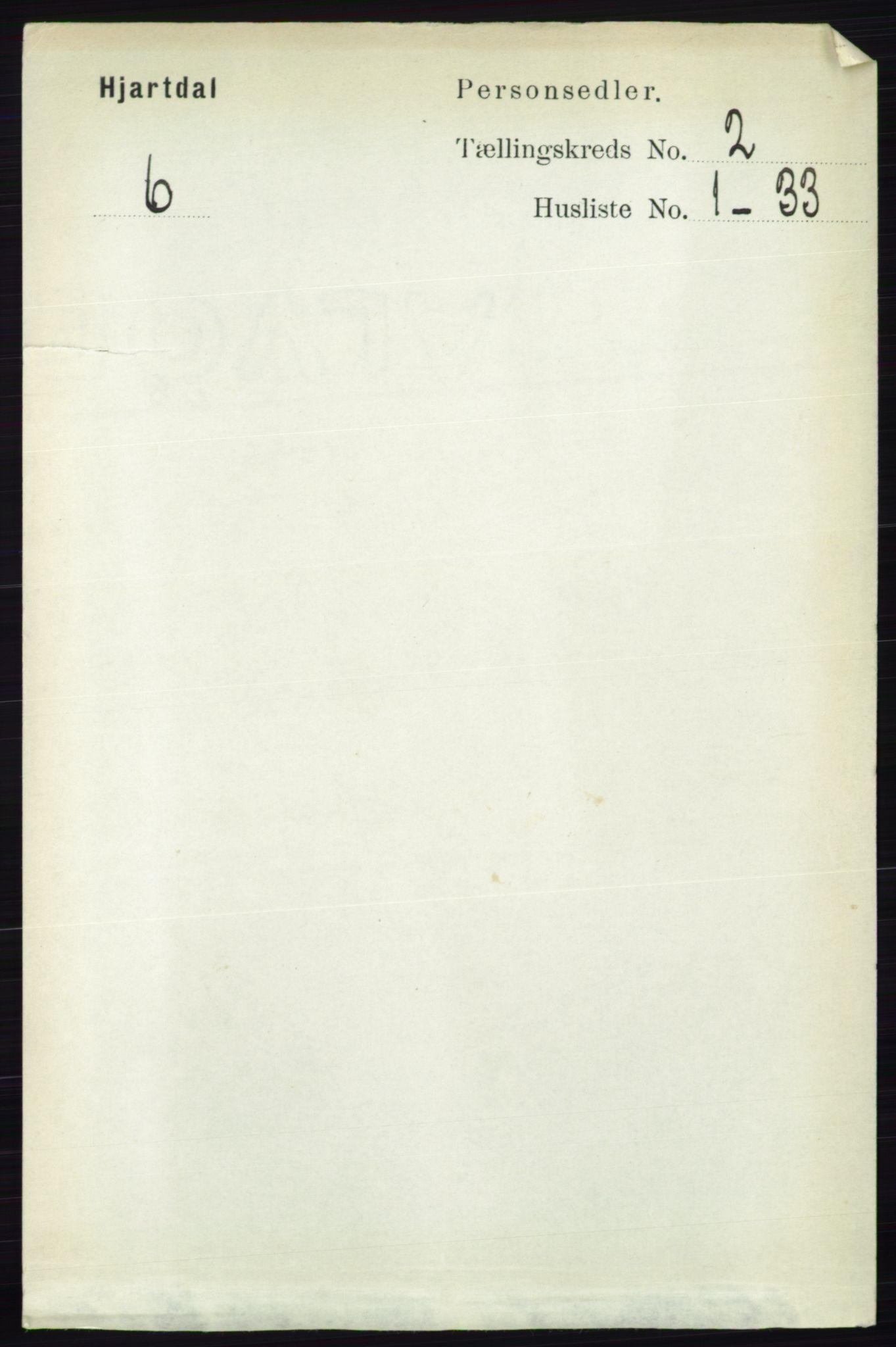 RA, Folketelling 1891 for 0827 Hjartdal herred, 1891, s. 691