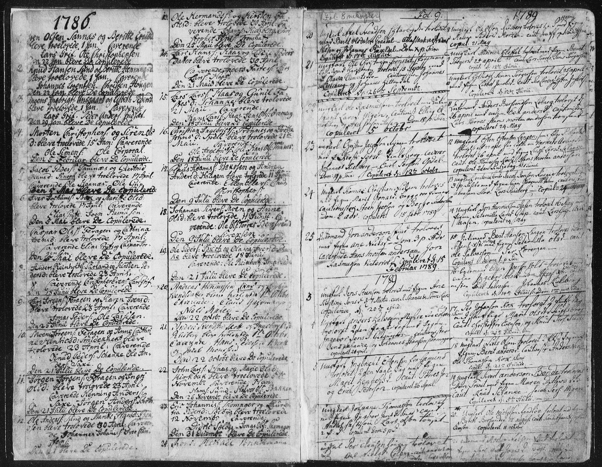 SAT, Ministerialprotokoller, klokkerbøker og fødselsregistre - Sør-Trøndelag, 681/L0926: Ministerialbok nr. 681A04, 1767-1797, s. 9