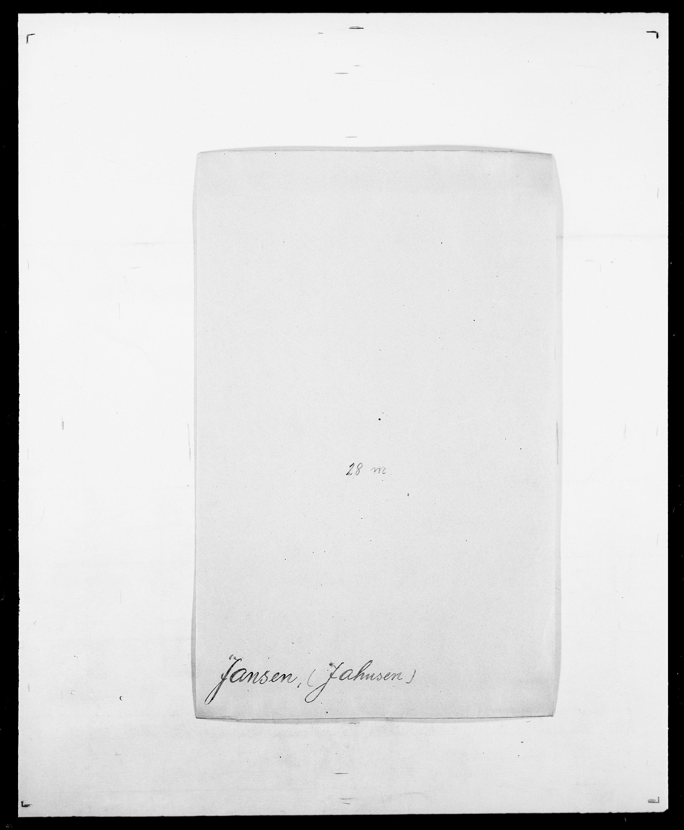 SAO, Delgobe, Charles Antoine - samling, D/Da/L0019: van der Hude - Joys, s. 542