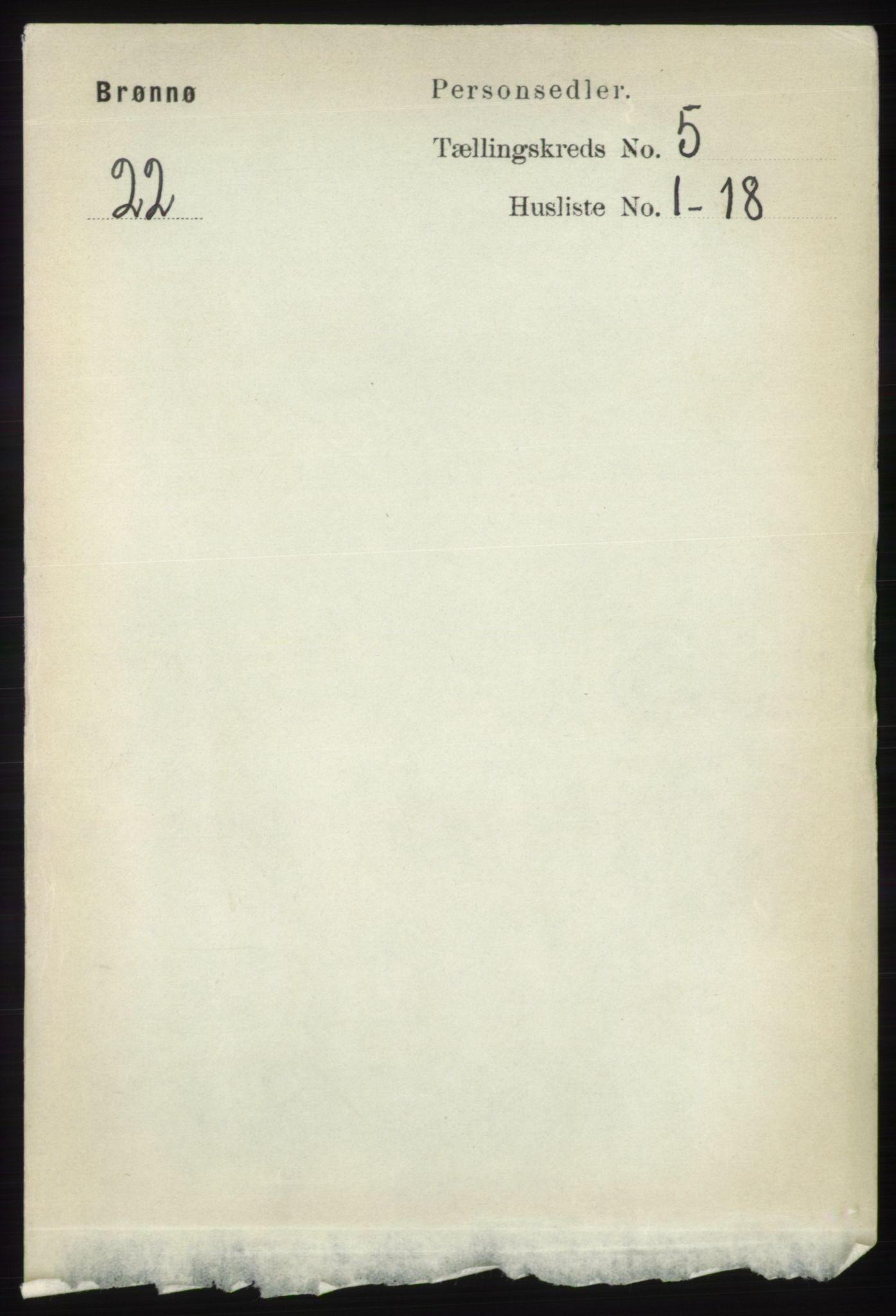 RA, Folketelling 1891 for 1814 Brønnøy herred, 1891, s. 2462