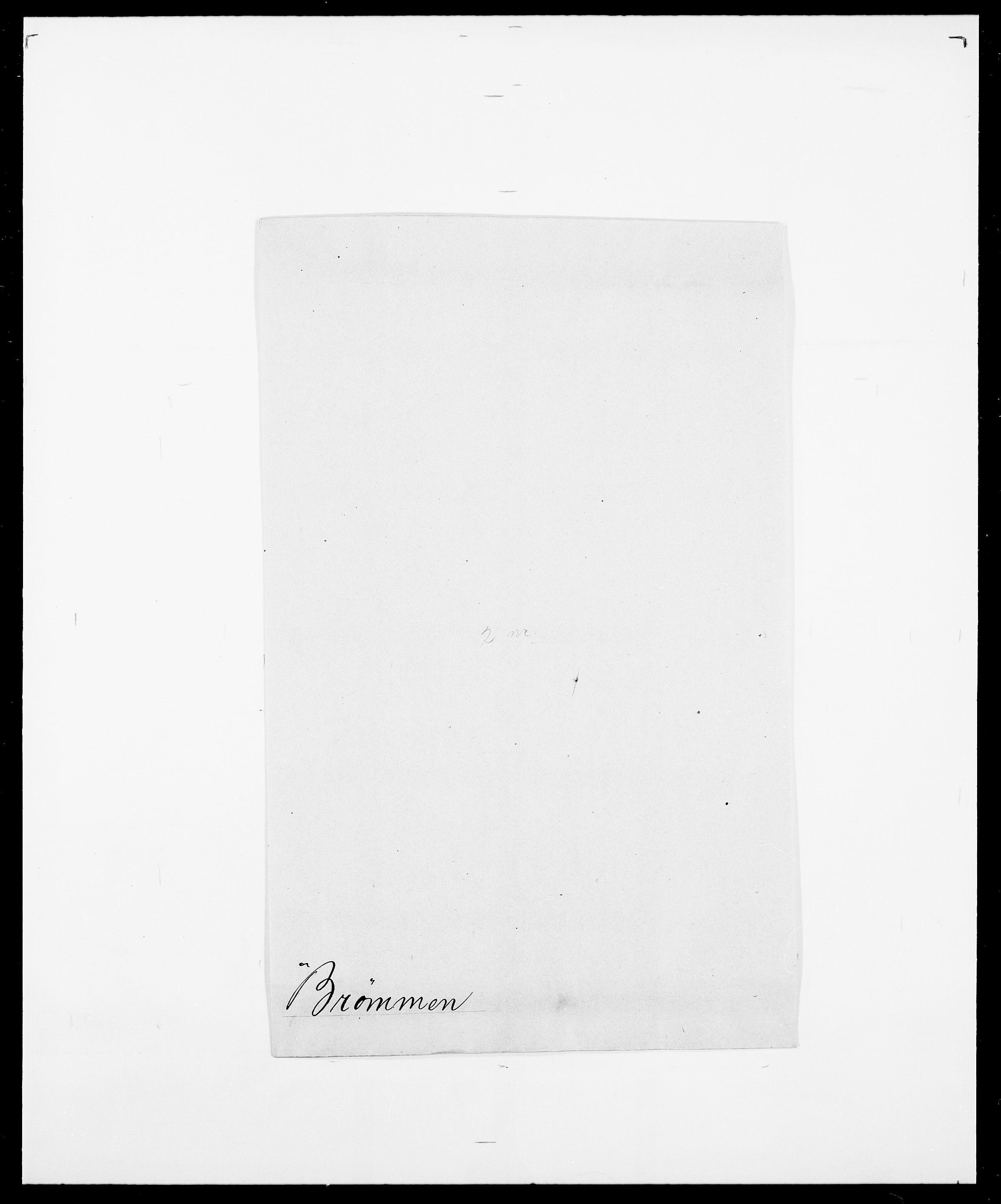 SAO, Delgobe, Charles Antoine - samling, D/Da/L0006: Brambani - Brønø, s. 956