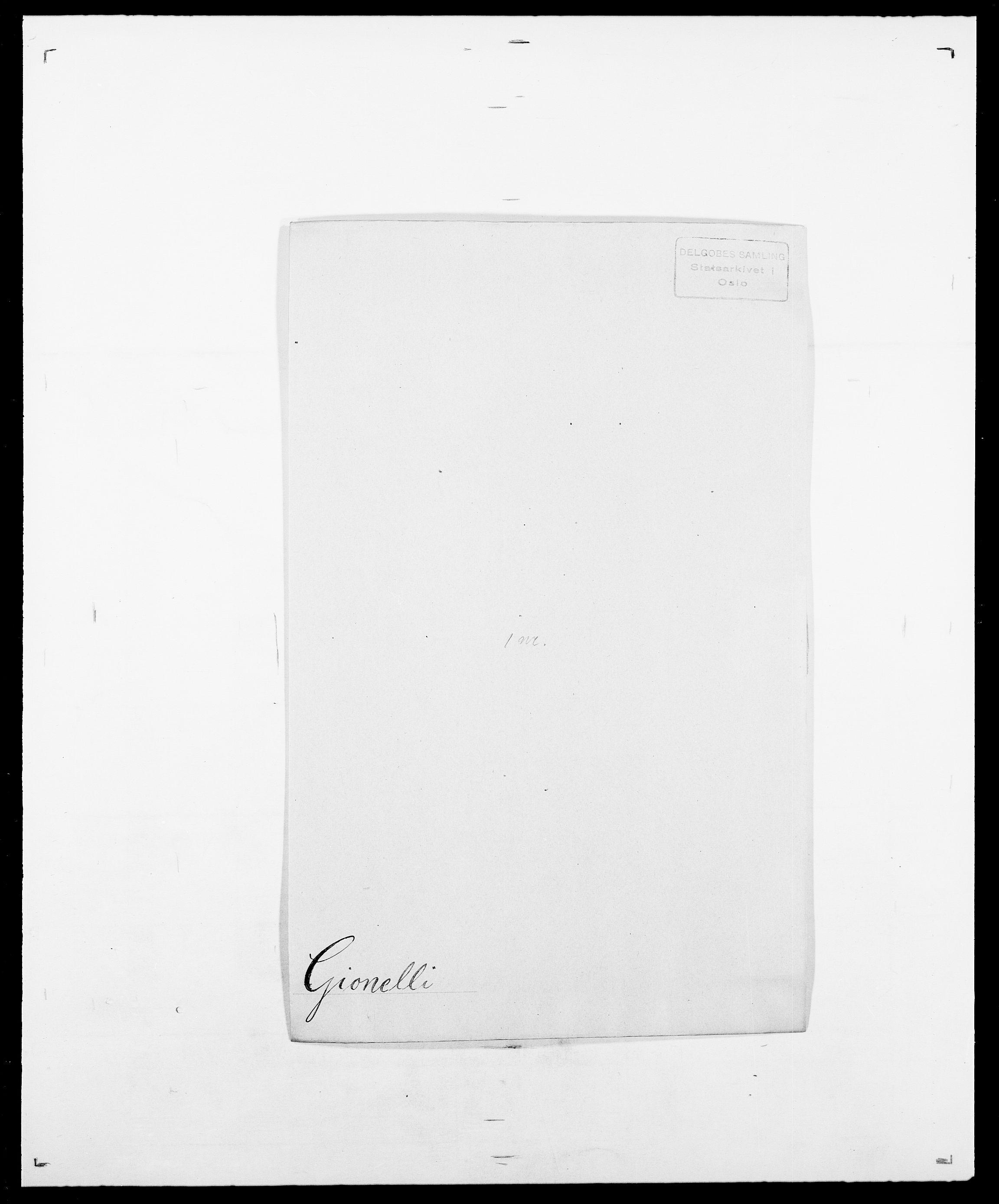 SAO, Delgobe, Charles Antoine - samling, D/Da/L0014: Giebdhausen - Grip, s. 42
