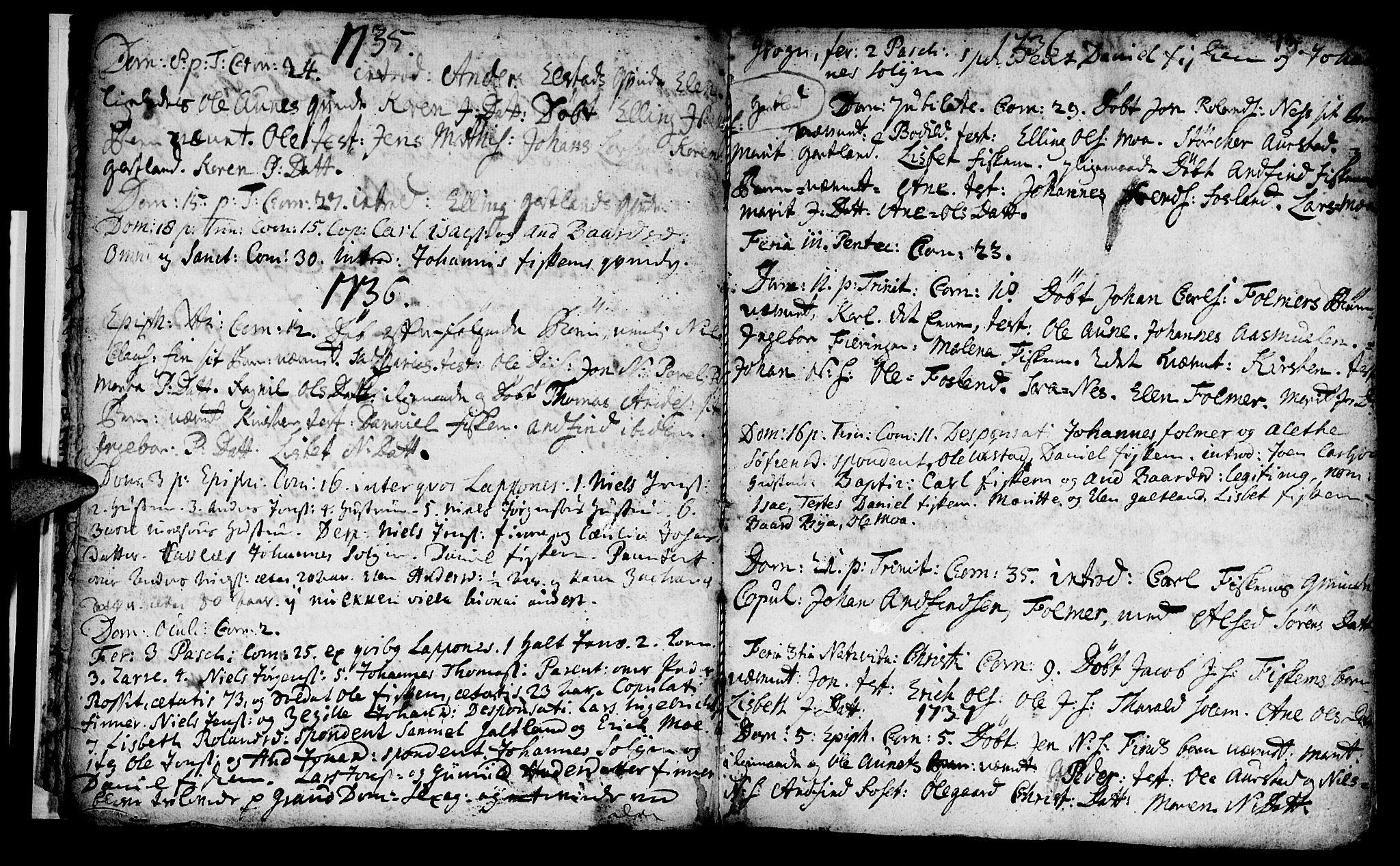 SAT, Ministerialprotokoller, klokkerbøker og fødselsregistre - Nord-Trøndelag, 759/L0525: Ministerialbok nr. 759A01, 1706-1748, s. 13