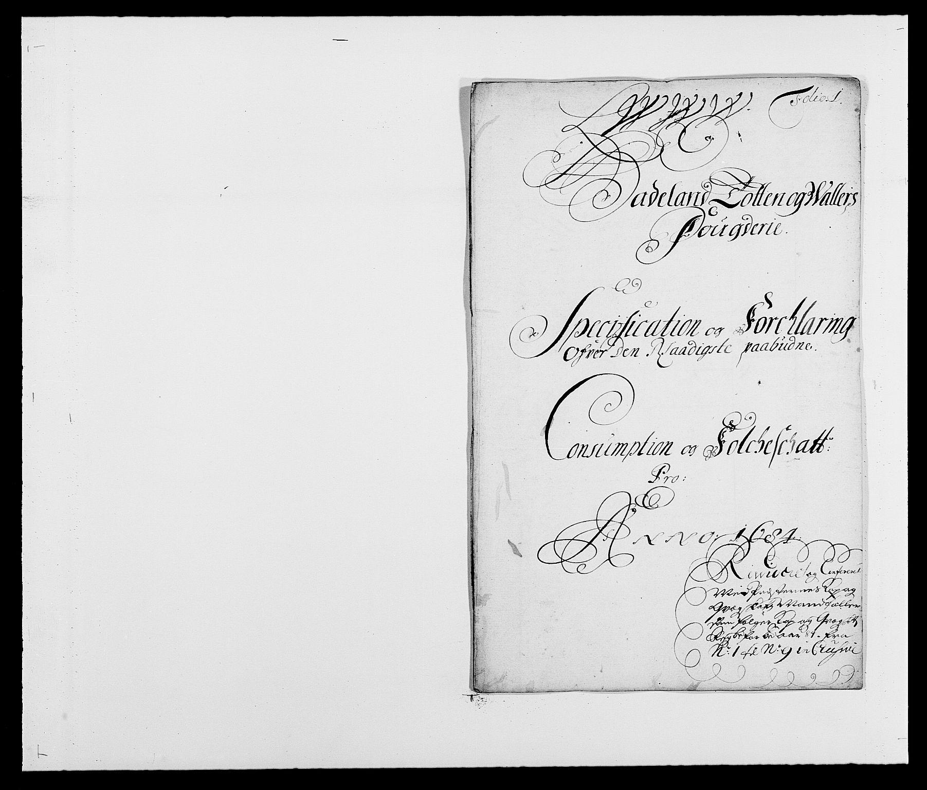 RA, Rentekammeret inntil 1814, Reviderte regnskaper, Fogderegnskap, R18/L1283: Fogderegnskap Hadeland, Toten og Valdres, 1684, s. 248