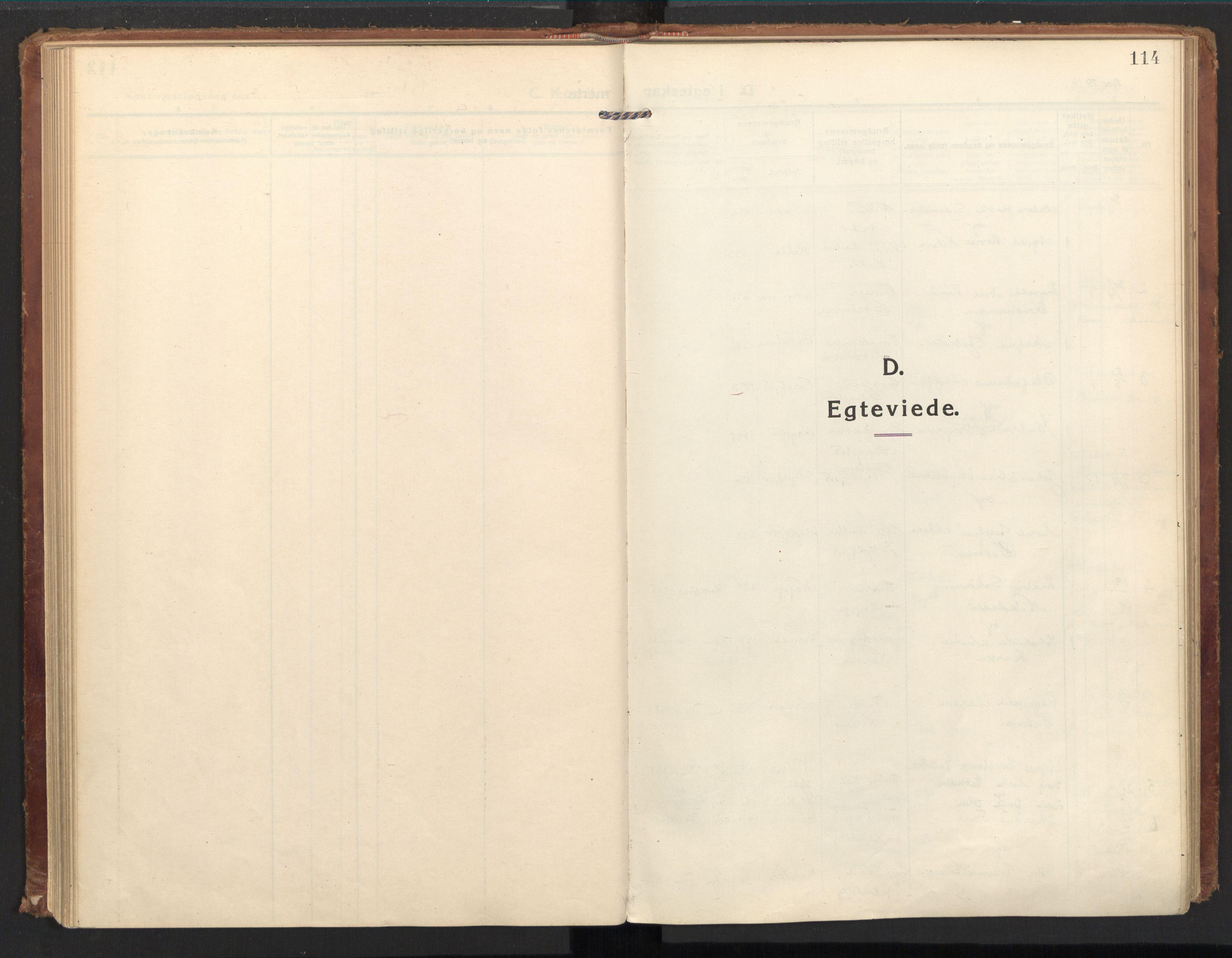 SAT, Ministerialprotokoller, klokkerbøker og fødselsregistre - Nordland, 885/L1210: Ministerialbok nr. 885A10, 1916-1926, s. 114