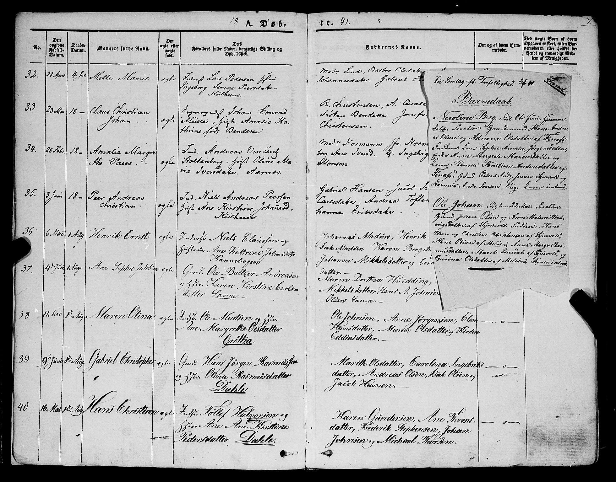 SATØ, Trondenes sokneprestkontor, H/Ha/L0009kirke: Ministerialbok nr. 9, 1841-1852, s. 7