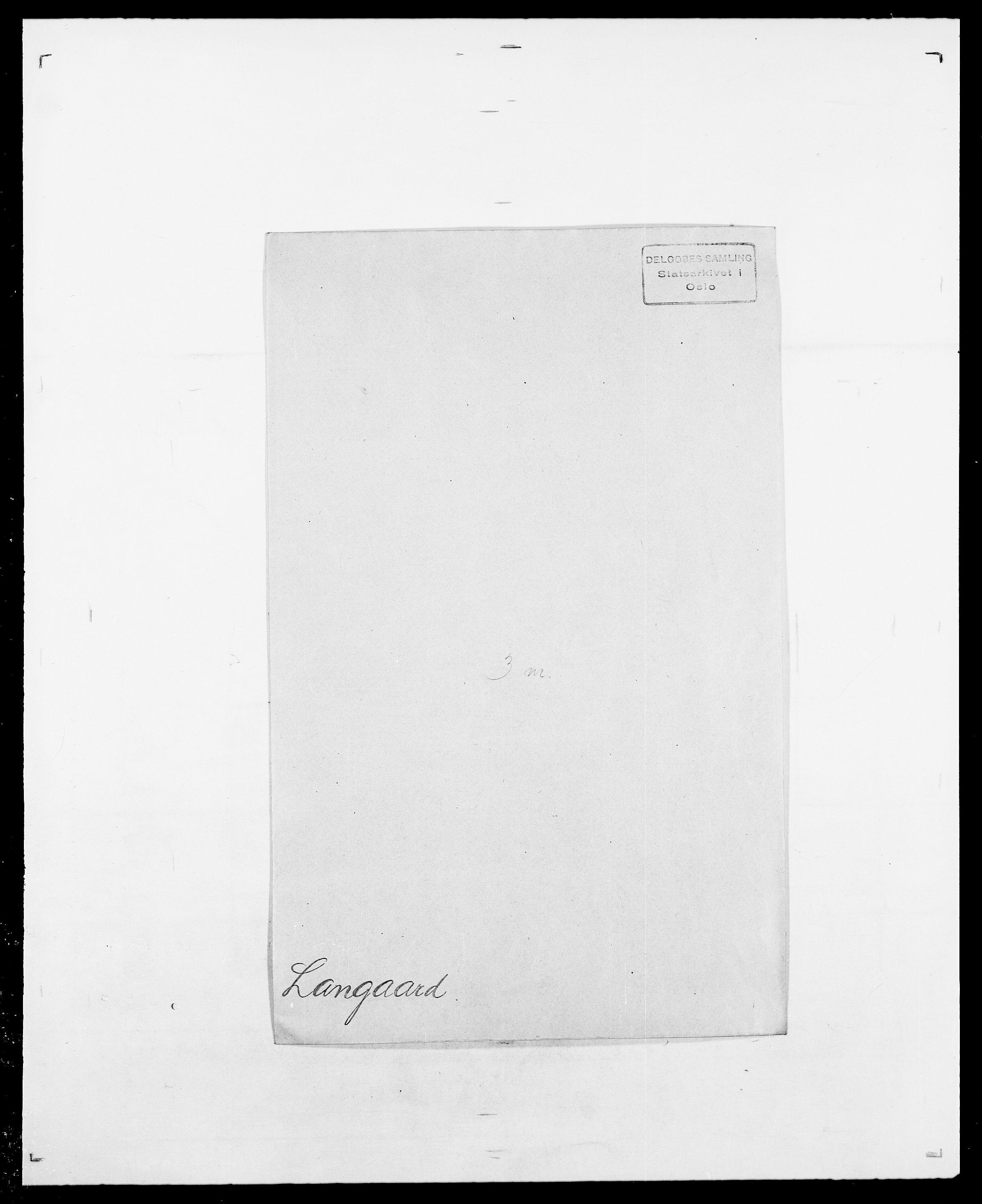 SAO, Delgobe, Charles Antoine - samling, D/Da/L0022: Krog - Lasteen, s. 550