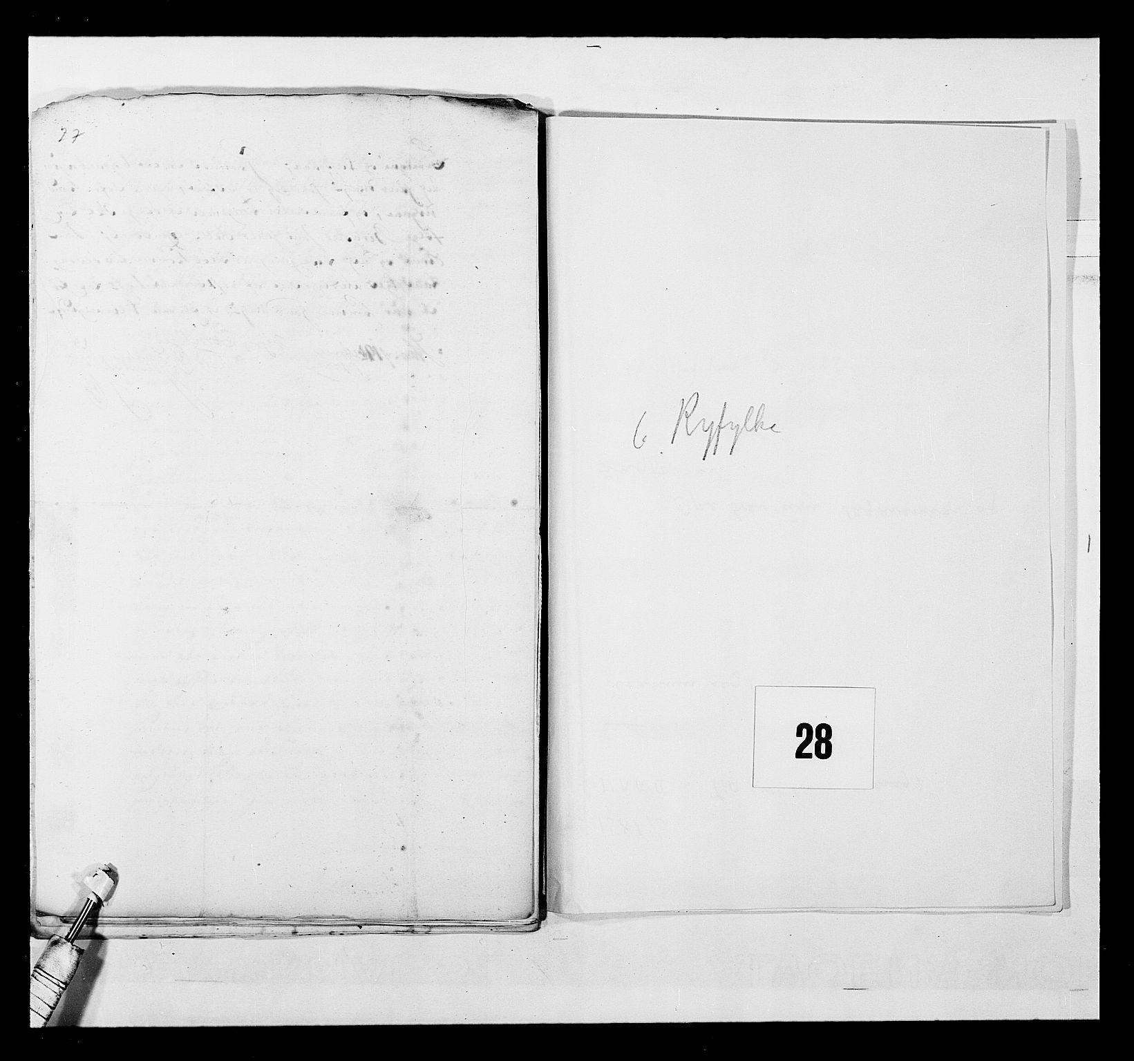 RA, Stattholderembetet 1572-1771, Ek/L0040: Jordebøker o.a. 1720-1728 vedkommende krongodset:, 1726-1727, s. 128
