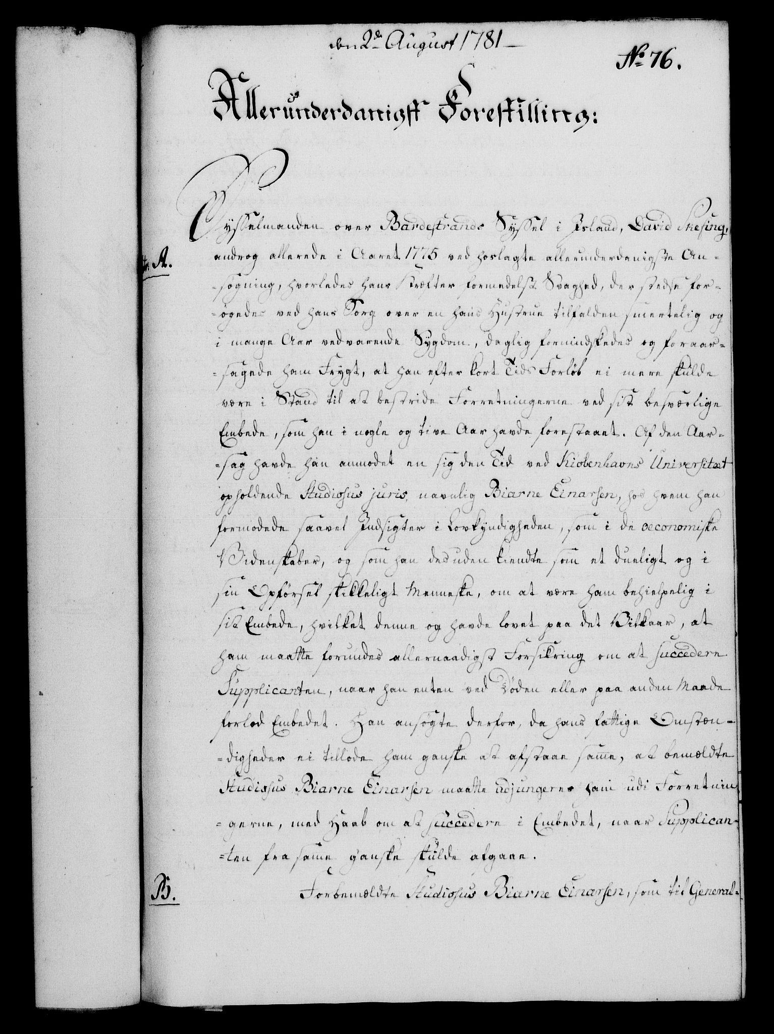RA, Rentekammeret, Kammerkanselliet, G/Gf/Gfa/L0063: Norsk relasjons- og resolusjonsprotokoll (merket RK 52.63), 1781, s. 891