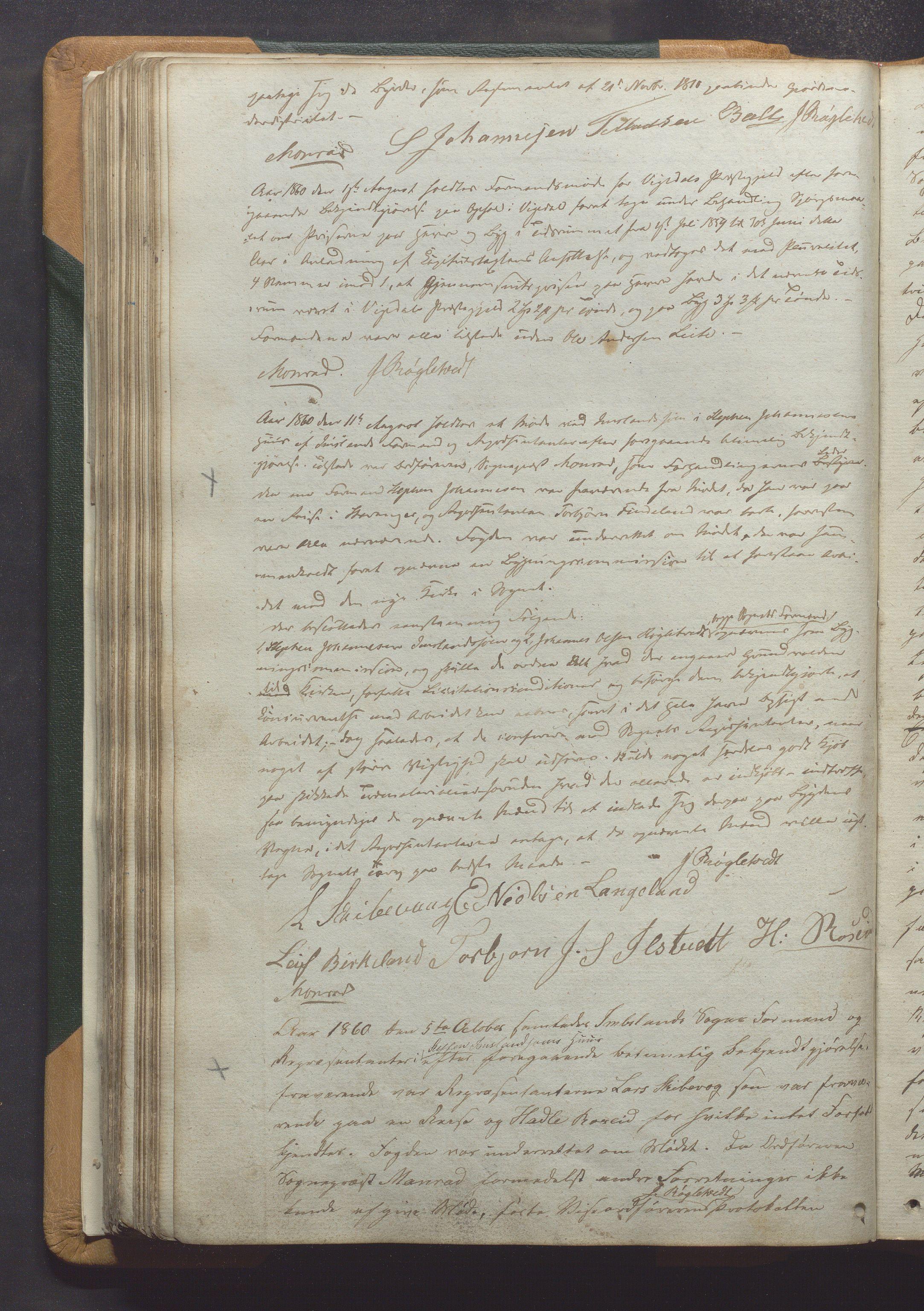 IKAR, Vikedal kommune - Formannskapet, Aaa/L0001: Møtebok, 1837-1874, s. 131b