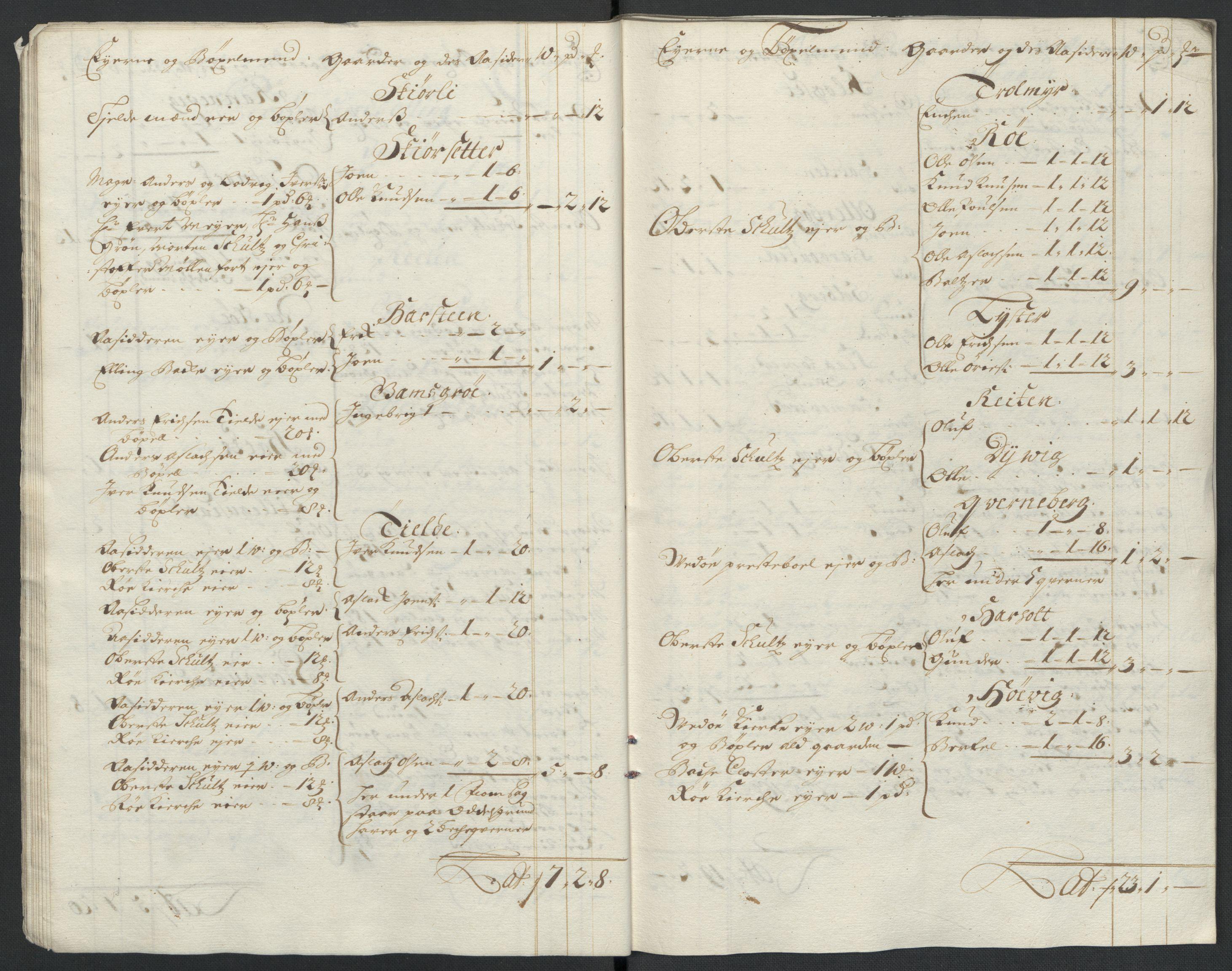 RA, Rentekammeret inntil 1814, Reviderte regnskaper, Fogderegnskap, R55/L3654: Fogderegnskap Romsdal, 1699-1700, s. 21