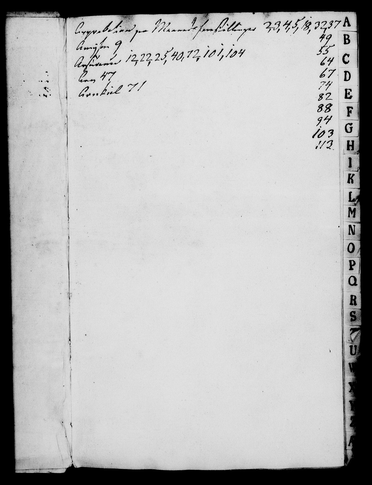 RA, Rentekammeret, Kammerkanselliet, G/Gf/Gfa/L0091: Norsk relasjons- og resolusjonsprotokoll (merket RK 52.91), 1809, s. 3