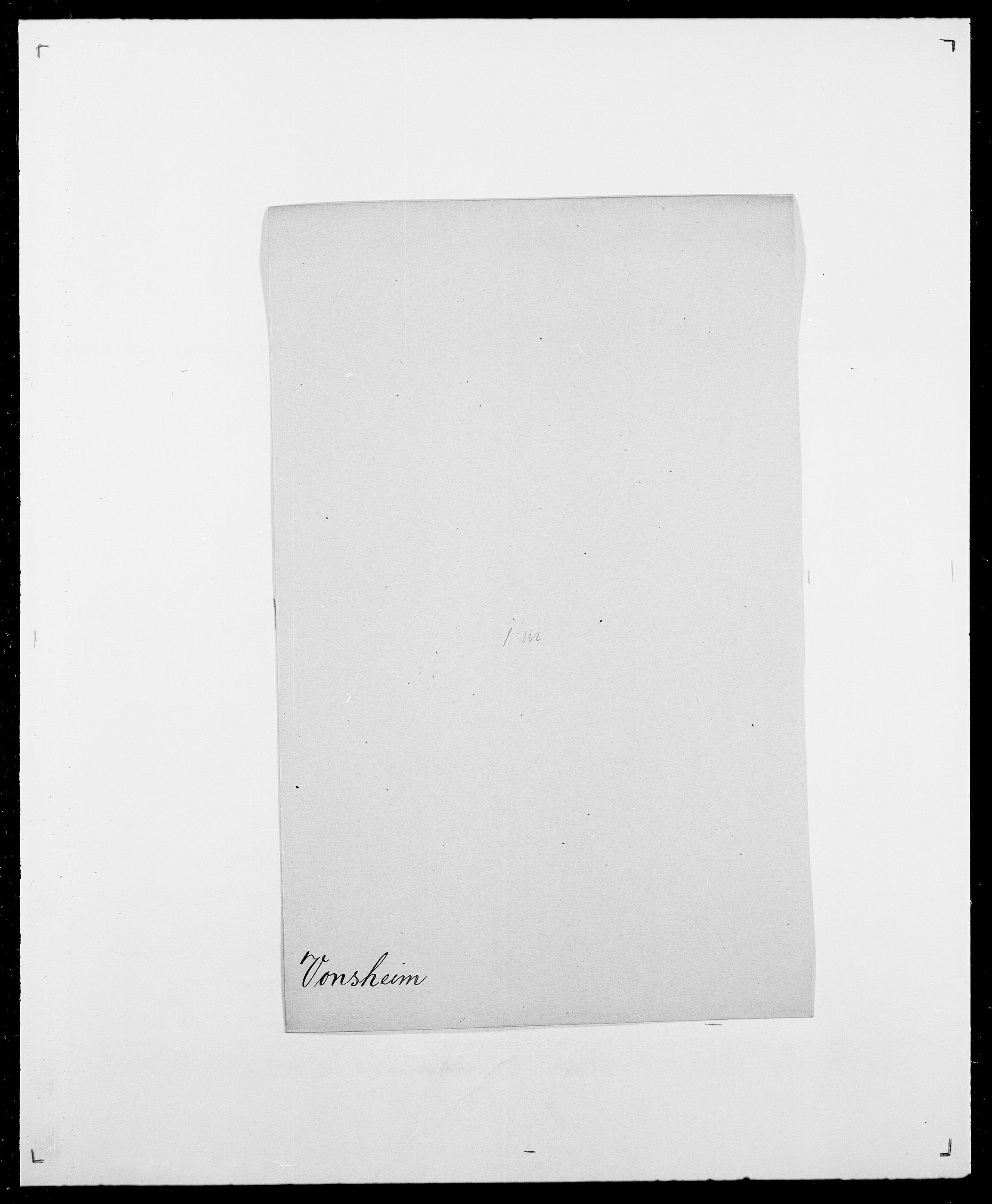 SAO, Delgobe, Charles Antoine - samling, D/Da/L0042: Vilain - Wulf, Wulff, se også Wolf, s. 673