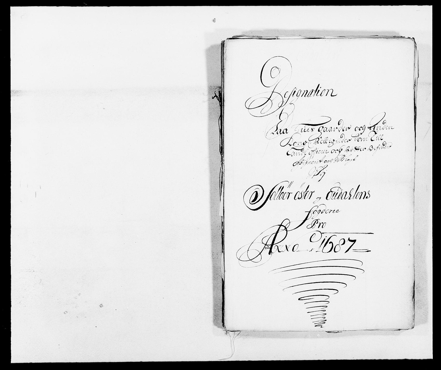 RA, Rentekammeret inntil 1814, Reviderte regnskaper, Fogderegnskap, R13/L0824: Fogderegnskap Solør, Odal og Østerdal, 1687, s. 249