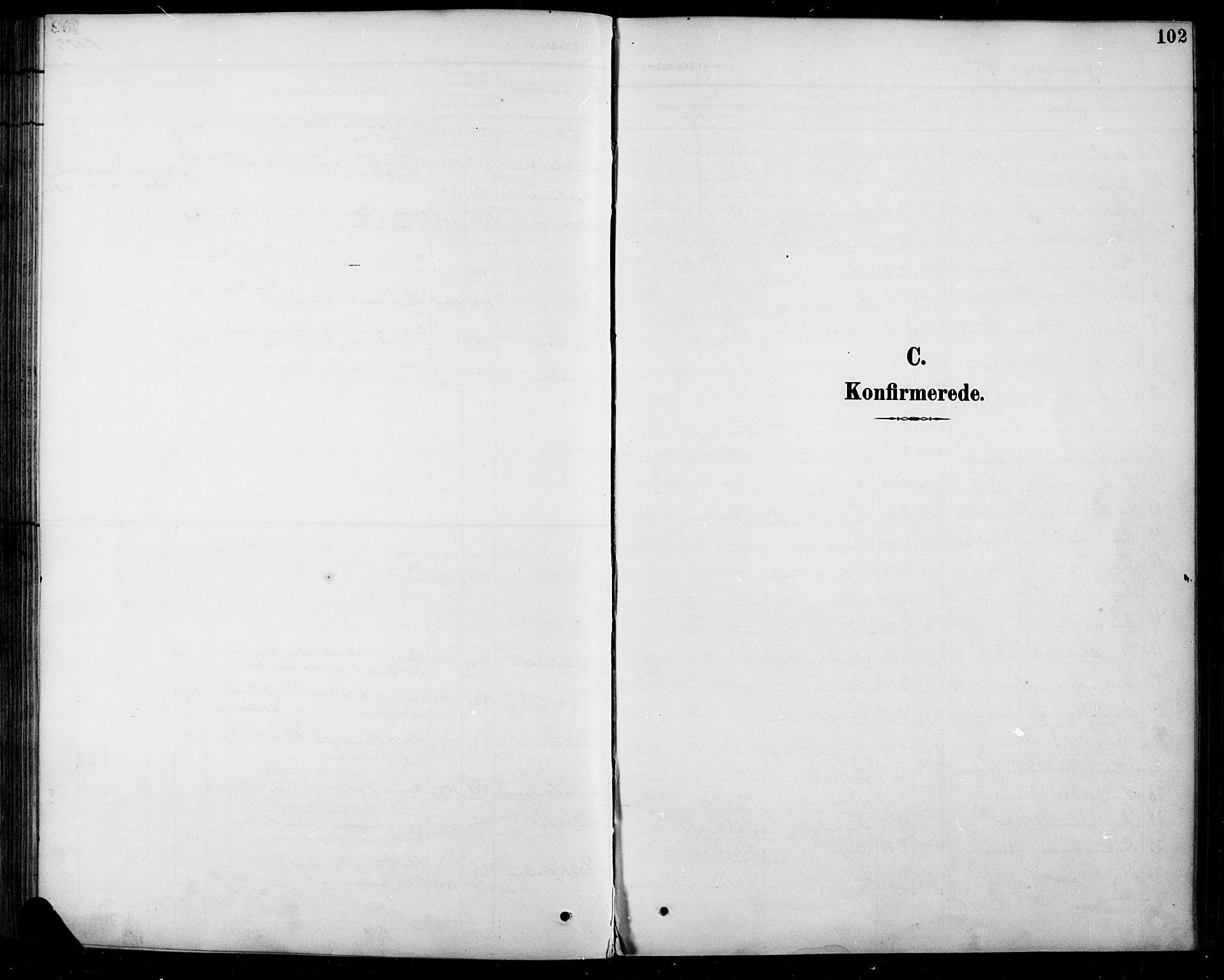 SAH, Sel prestekontor, Klokkerbok nr. 5, 1894-1923, s. 102