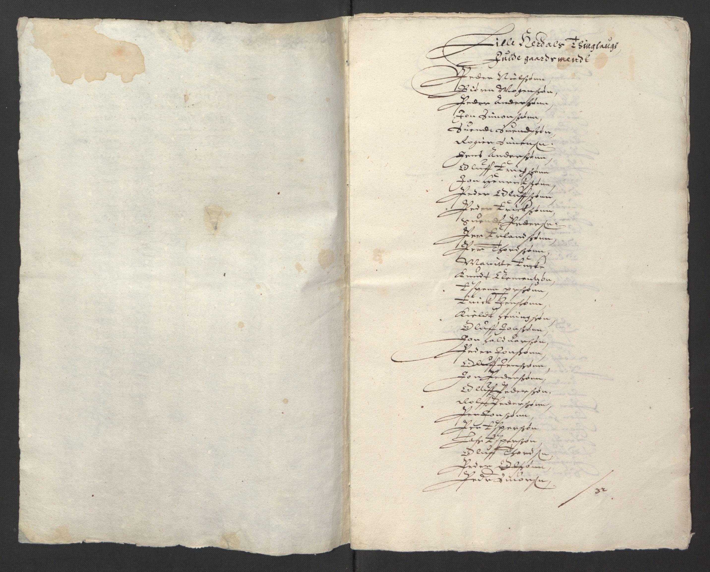 RA, Stattholderembetet 1572-1771, Ek/L0013: Jordebøker til utlikning av rosstjeneste 1624-1626:, 1624-1625, s. 141