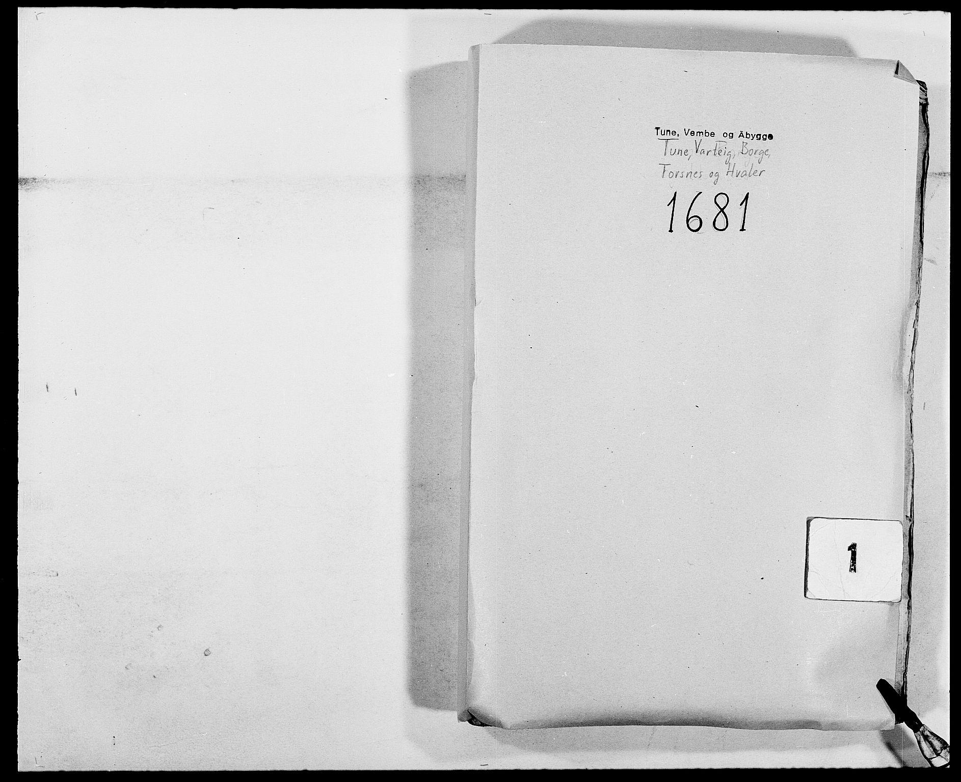 RA, Rentekammeret inntil 1814, Reviderte regnskaper, Fogderegnskap, R03/L0114: Fogderegnskap Onsøy, Tune, Veme og Åbygge fogderi, 1678-1683, s. 1