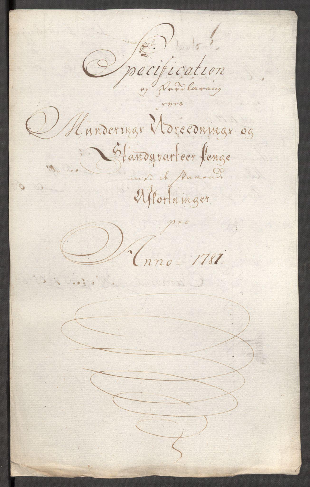 RA, Rentekammeret inntil 1814, Reviderte regnskaper, Fogderegnskap, R48/L3097: Fogderegnskap Sunnhordland og Hardanger, 1781, s. 222