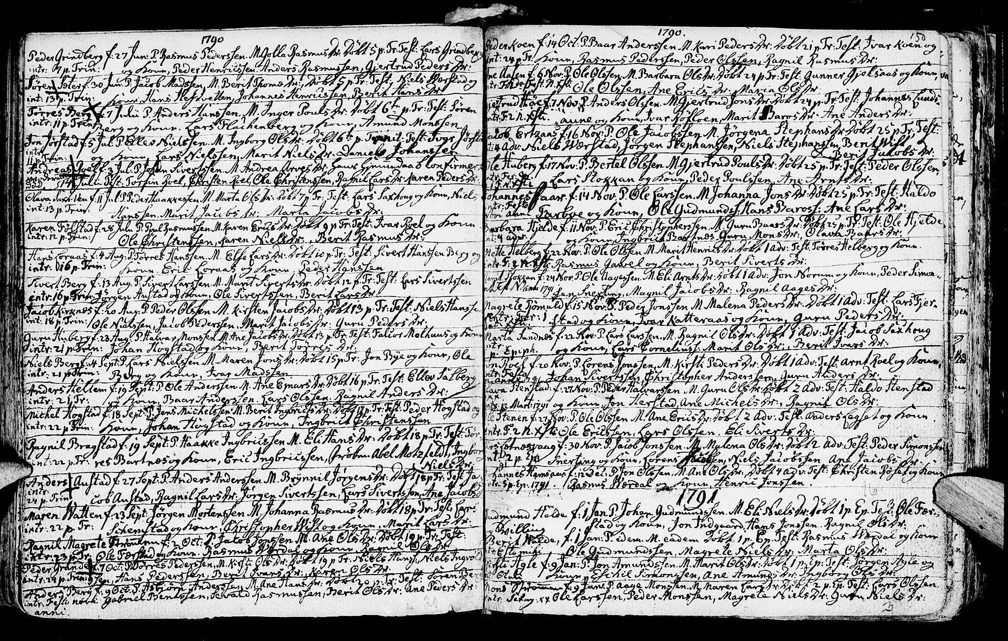 SAT, Ministerialprotokoller, klokkerbøker og fødselsregistre - Nord-Trøndelag, 730/L0273: Ministerialbok nr. 730A02, 1762-1802, s. 150