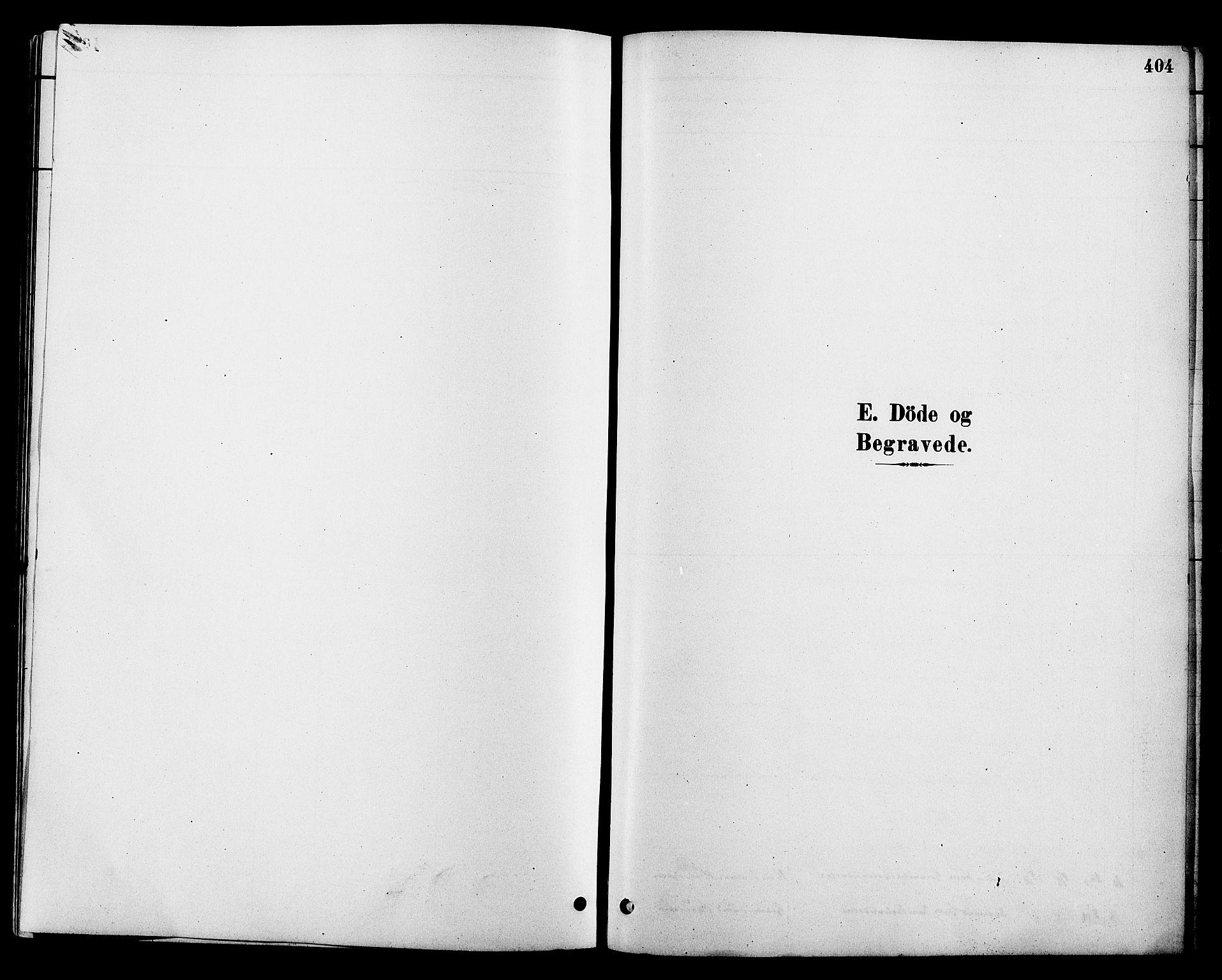 SAKO, Heddal kirkebøker, G/Ga/L0002: Klokkerbok nr. I 2, 1879-1908, s. 404