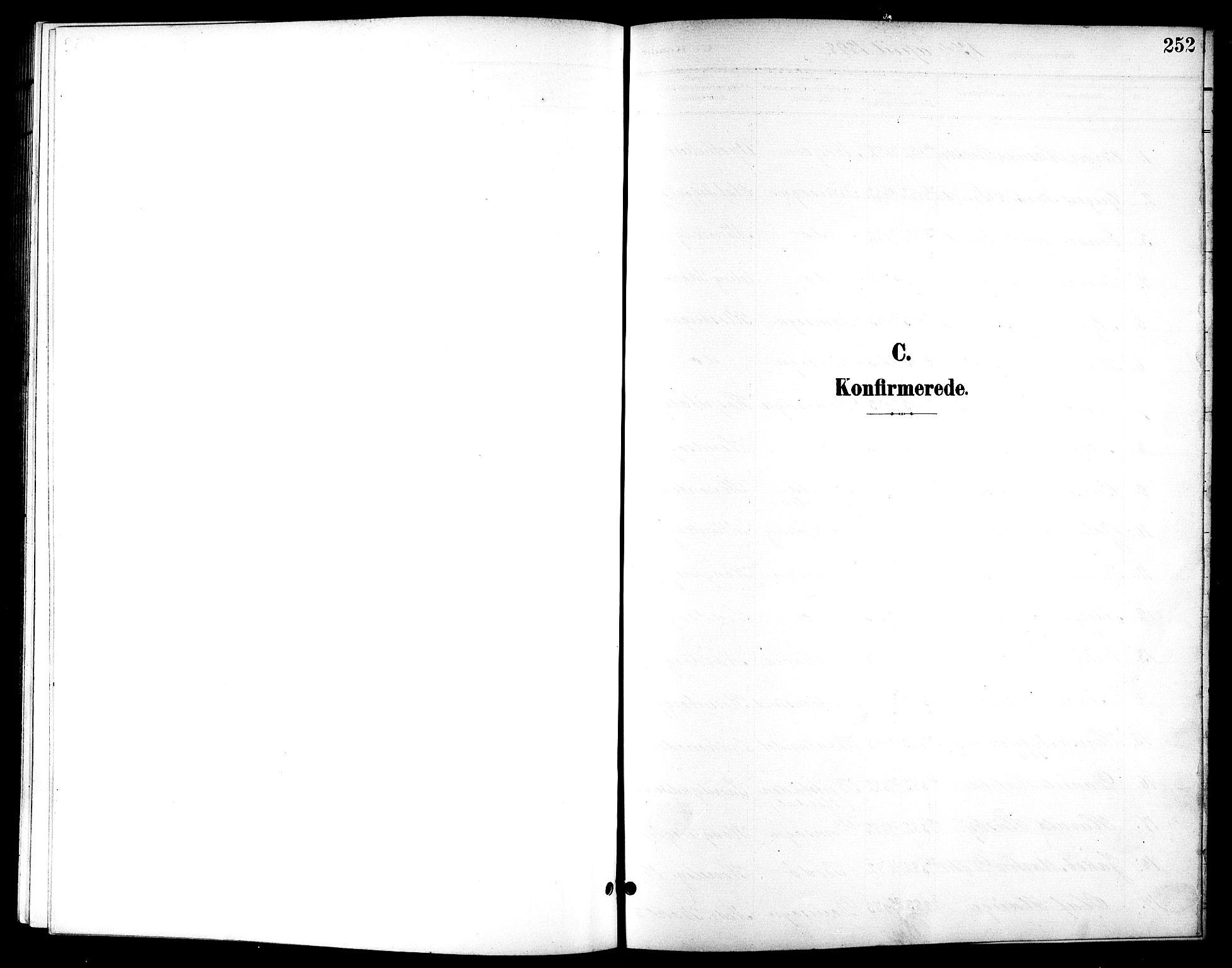 SAT, Ministerialprotokoller, klokkerbøker og fødselsregistre - Sør-Trøndelag, 601/L0094: Klokkerbok nr. 601C12, 1898-1911, s. 252