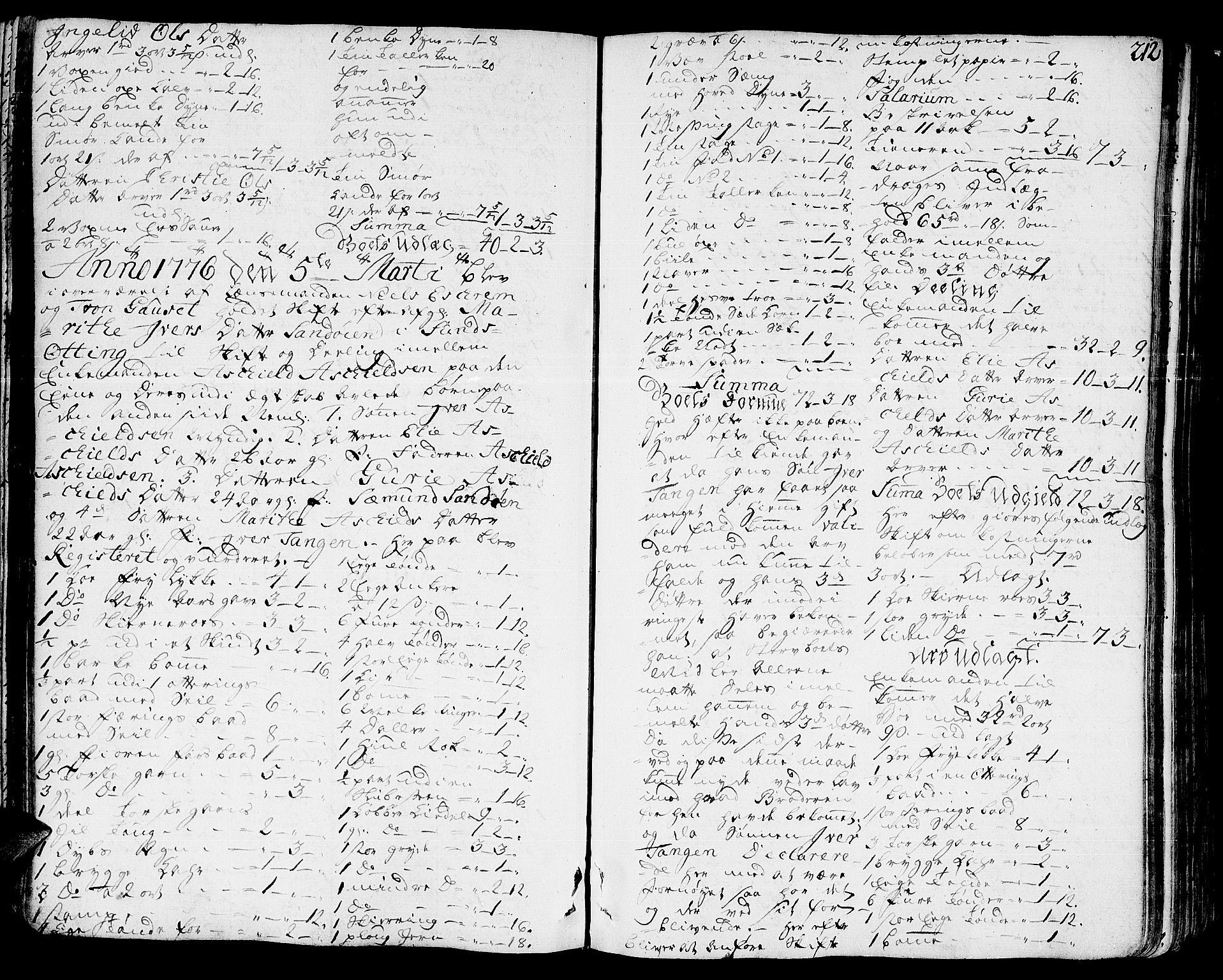 SAT, Romsdal sorenskriveri, 3/3A/L0010: Skifteprotokoll, 1774-1782, s. 211b-212a