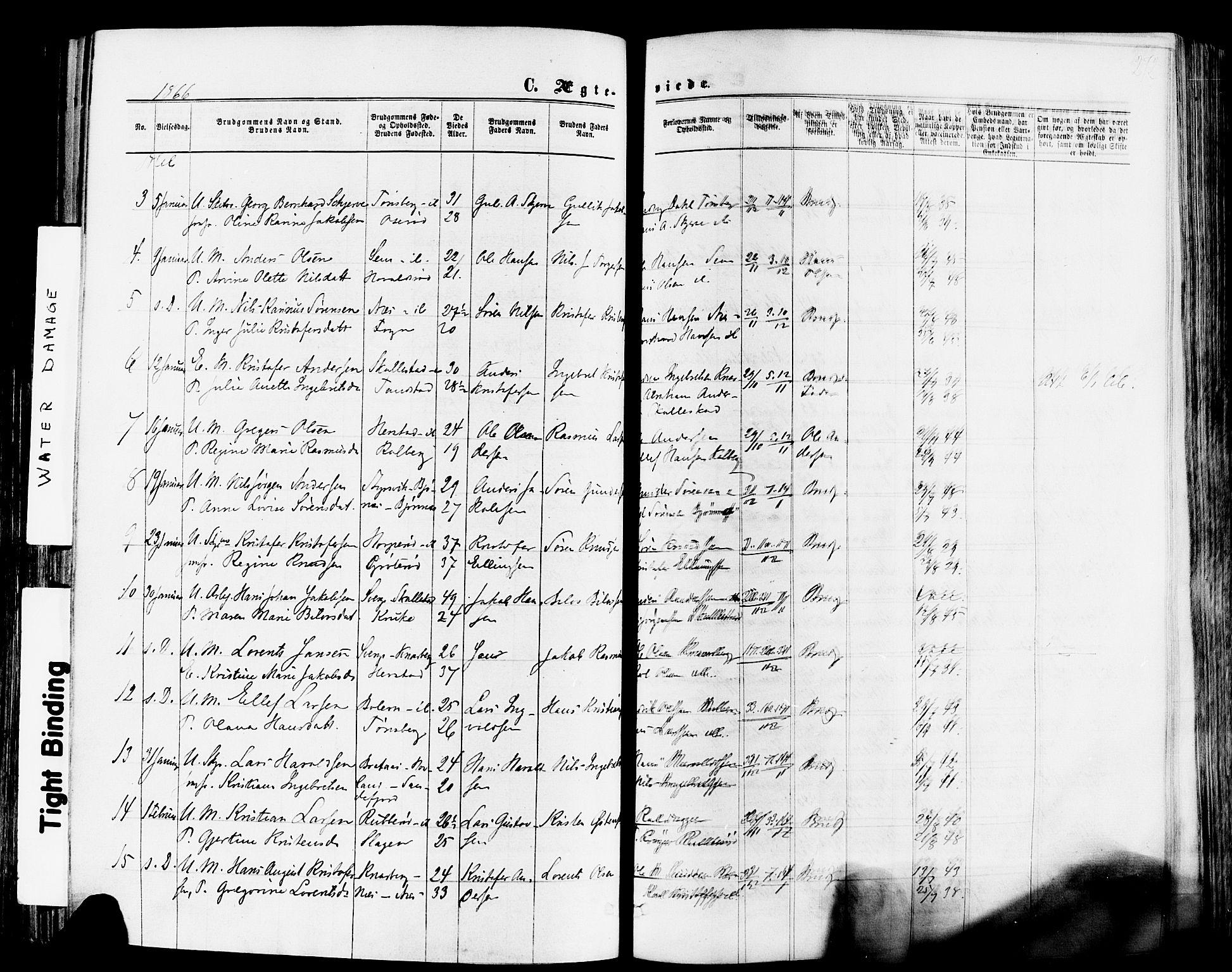 SAKO, Nøtterøy kirkebøker, F/Fa/L0007: Ministerialbok nr. I 7, 1865-1877, s. 272