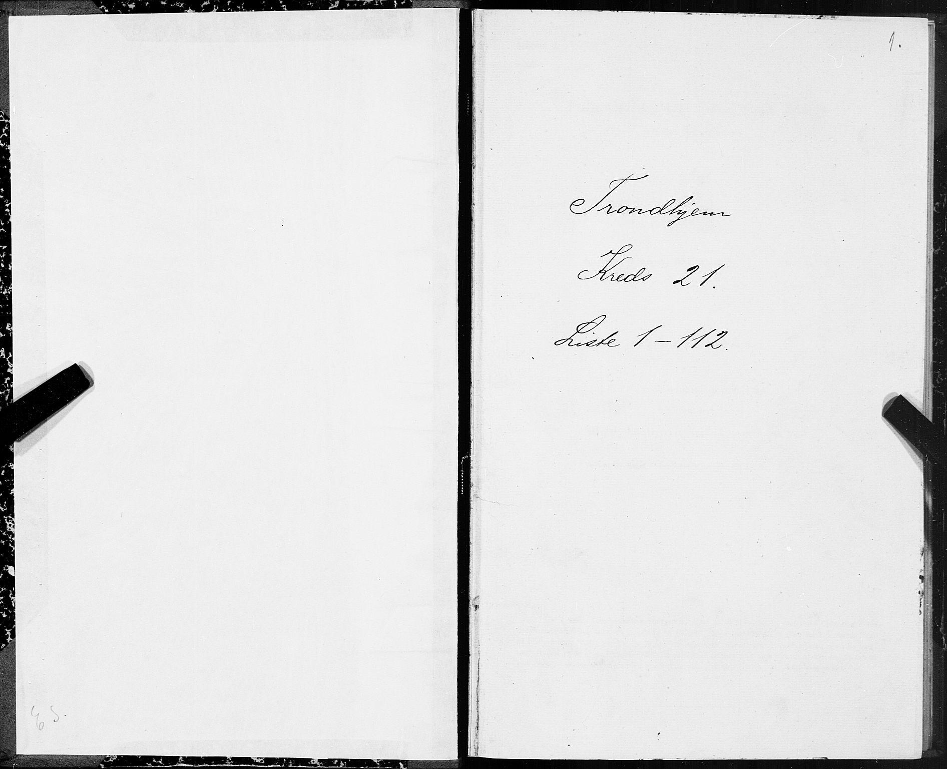 SAT, Folketelling 1875 for 1601 Trondheim kjøpstad, 1875, s. 11001