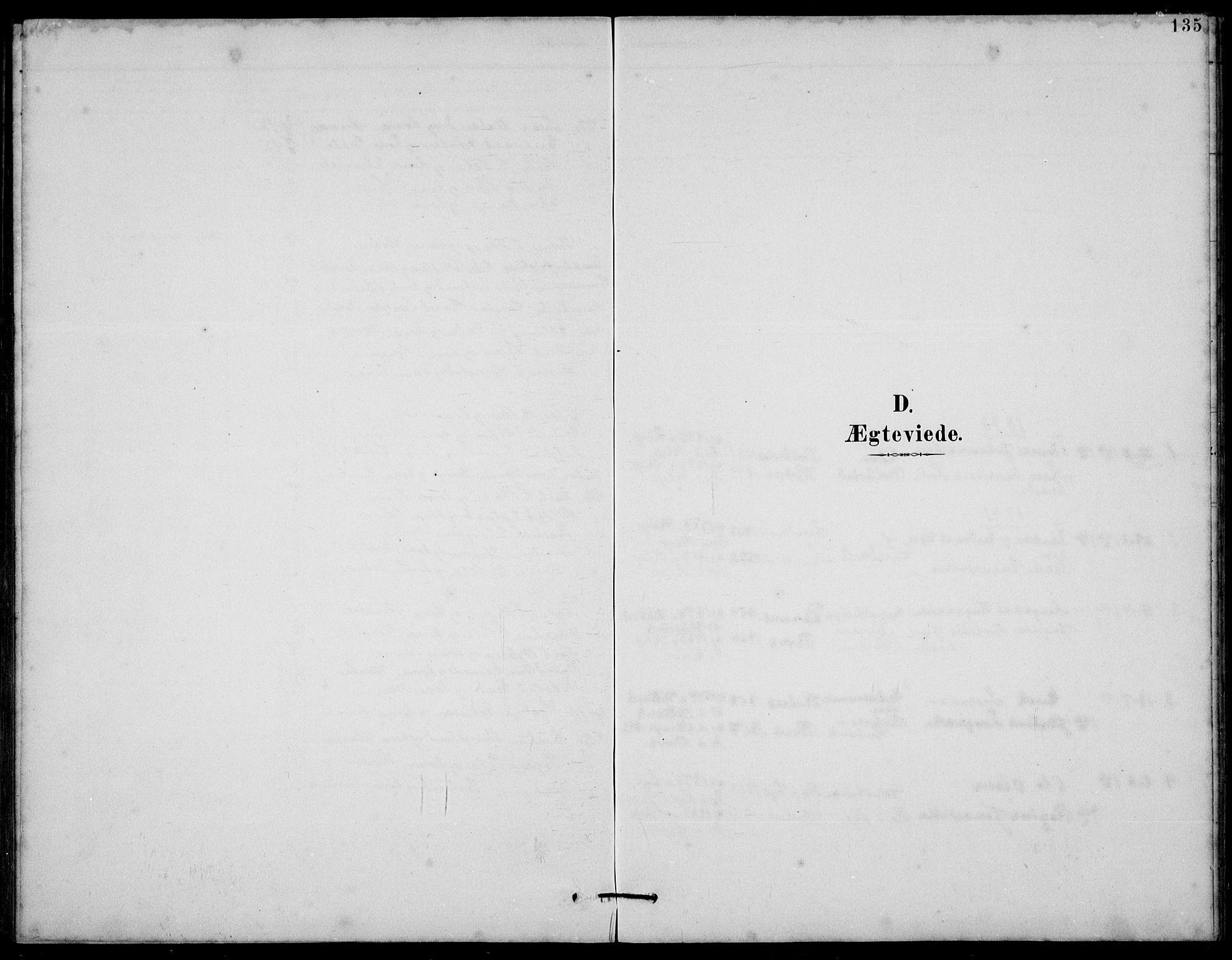 SAST, Klepp sokneprestkontor, 30BB/L0006: Klokkerbok nr. B 6, 1889-1936, s. 135