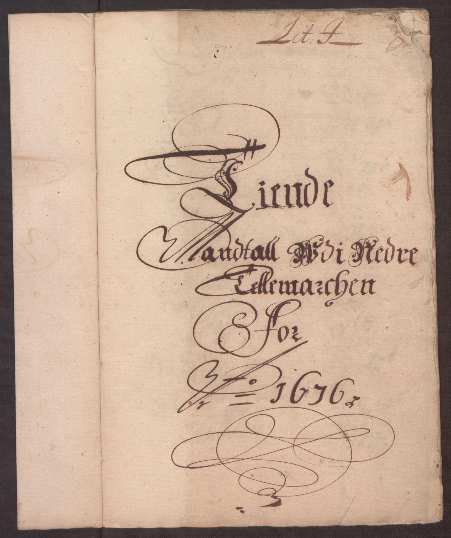 RA, Rentekammeret inntil 1814, Reviderte regnskaper, Fogderegnskap, R35/L2066: Fogderegnskap Øvre og Nedre Telemark, 1676, s. 196