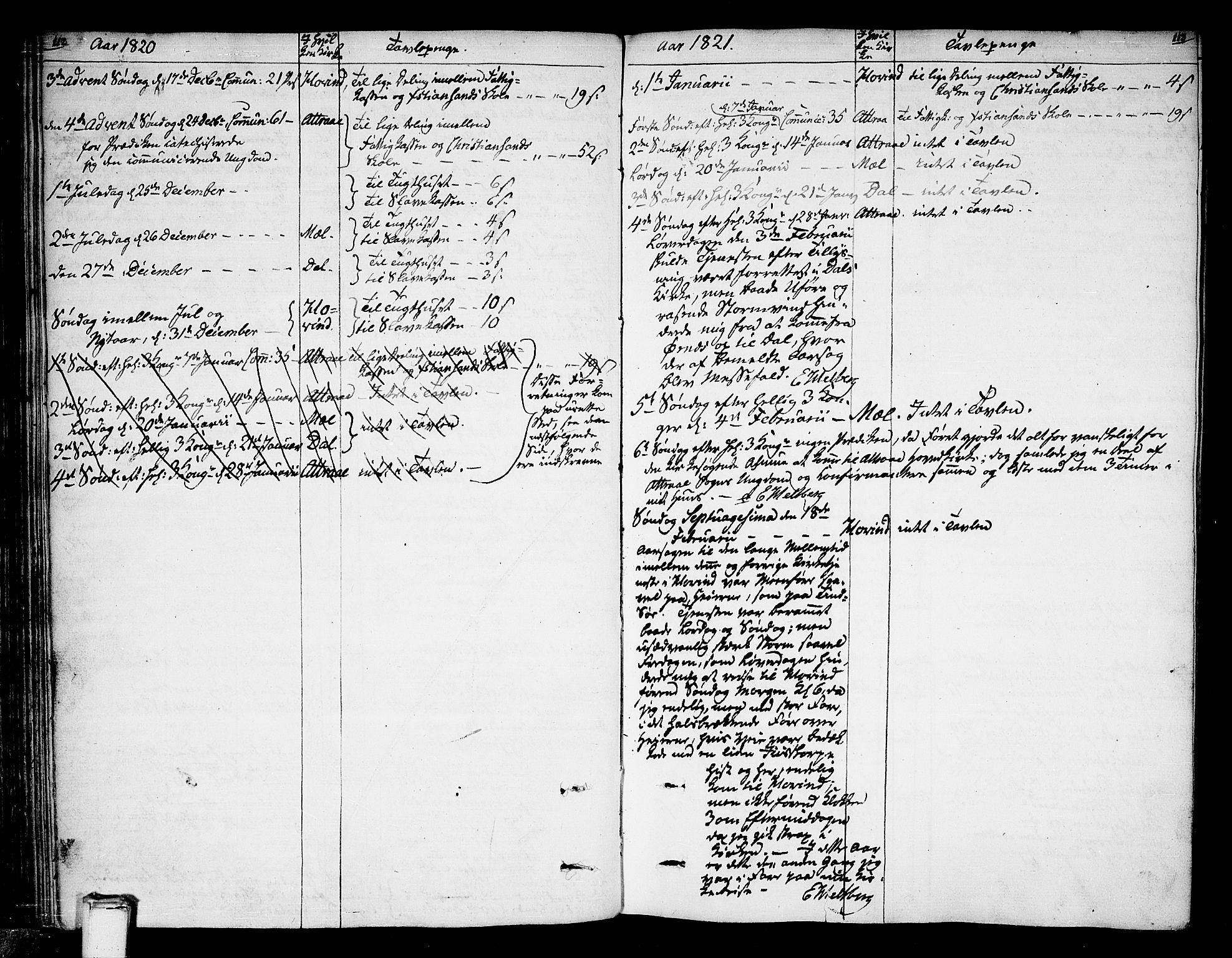 SAKO, Tinn kirkebøker, F/Fa/L0003: Ministerialbok nr. I 3, 1810-1814, s. 112-113