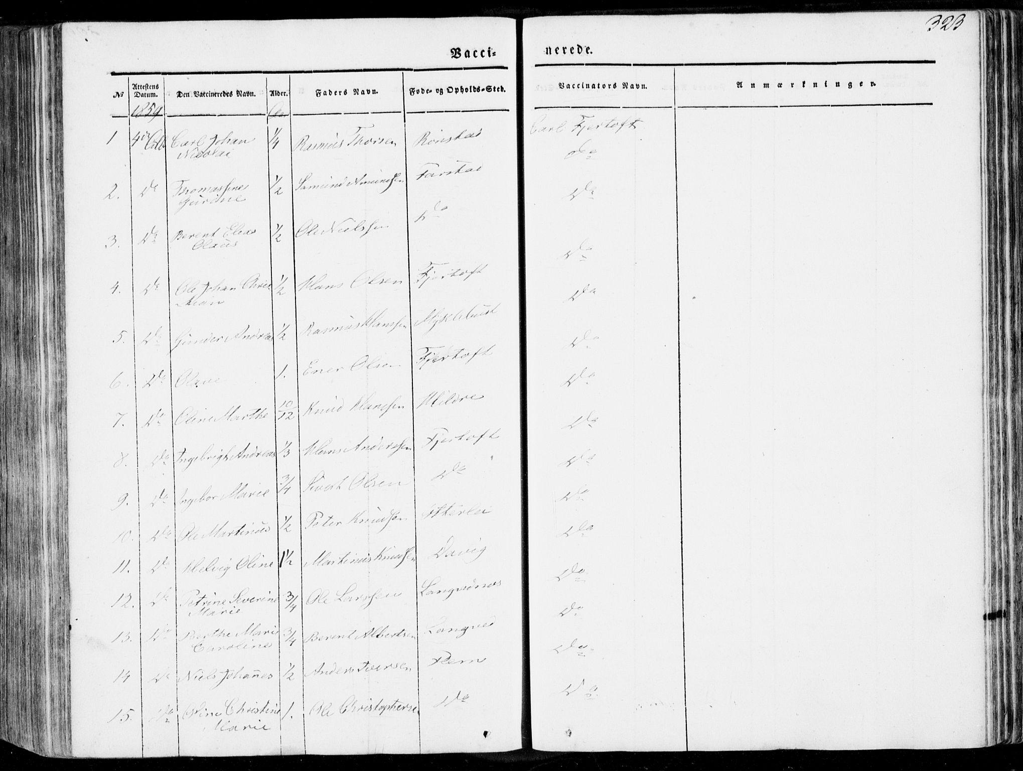 SAT, Ministerialprotokoller, klokkerbøker og fødselsregistre - Møre og Romsdal, 536/L0497: Ministerialbok nr. 536A06, 1845-1865, s. 323