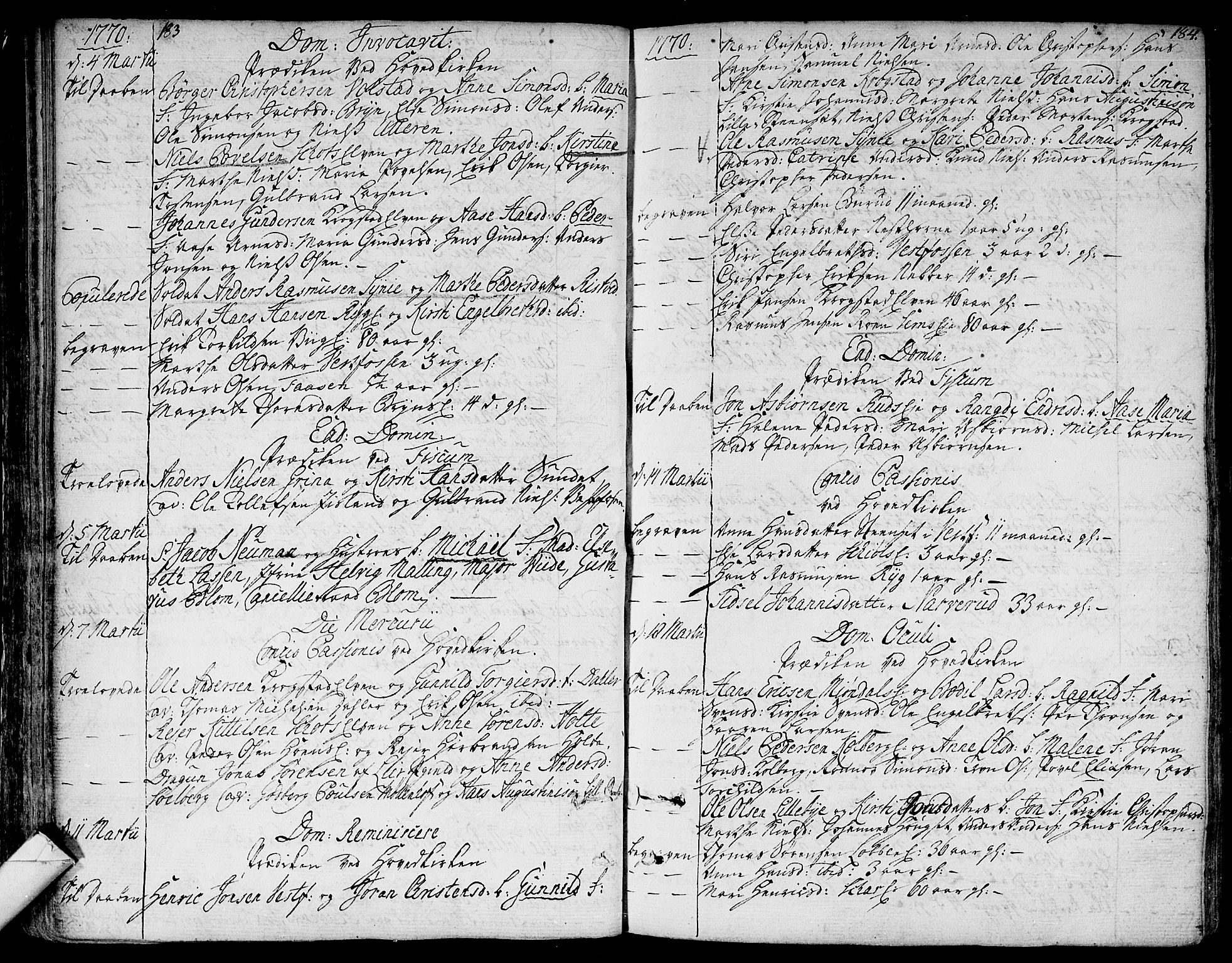 SAKO, Eiker kirkebøker, F/Fa/L0008: Ministerialbok nr. I 8, 1764-1788, s. 183-184