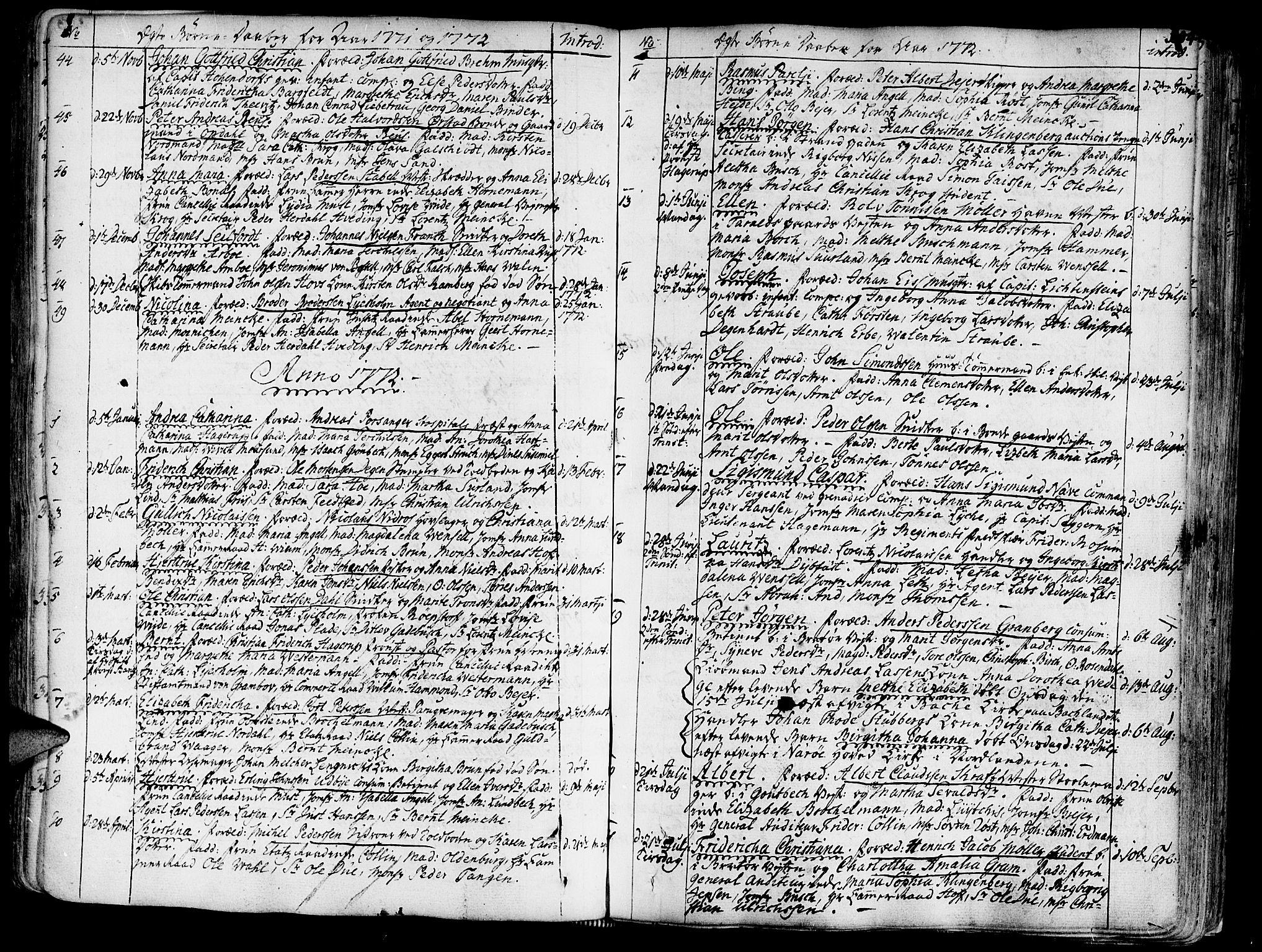 SAT, Ministerialprotokoller, klokkerbøker og fødselsregistre - Sør-Trøndelag, 602/L0103: Ministerialbok nr. 602A01, 1732-1774, s. 104