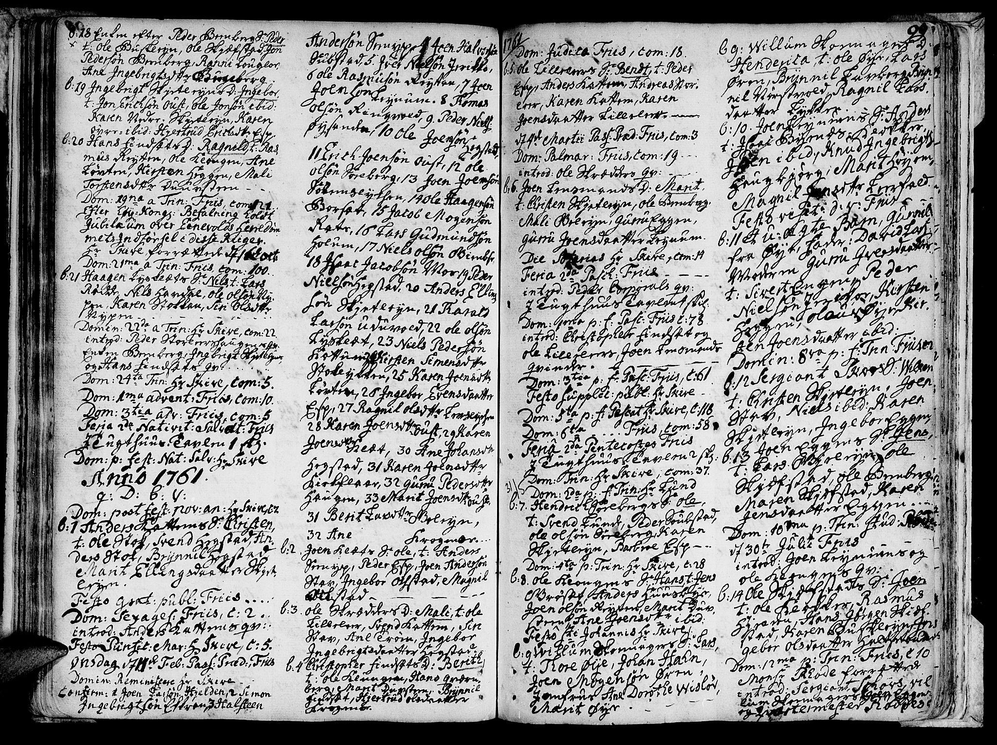 SAT, Ministerialprotokoller, klokkerbøker og fødselsregistre - Sør-Trøndelag, 691/L1059: Ministerialbok nr. 691A01 /3, 1740-1767, s. 99